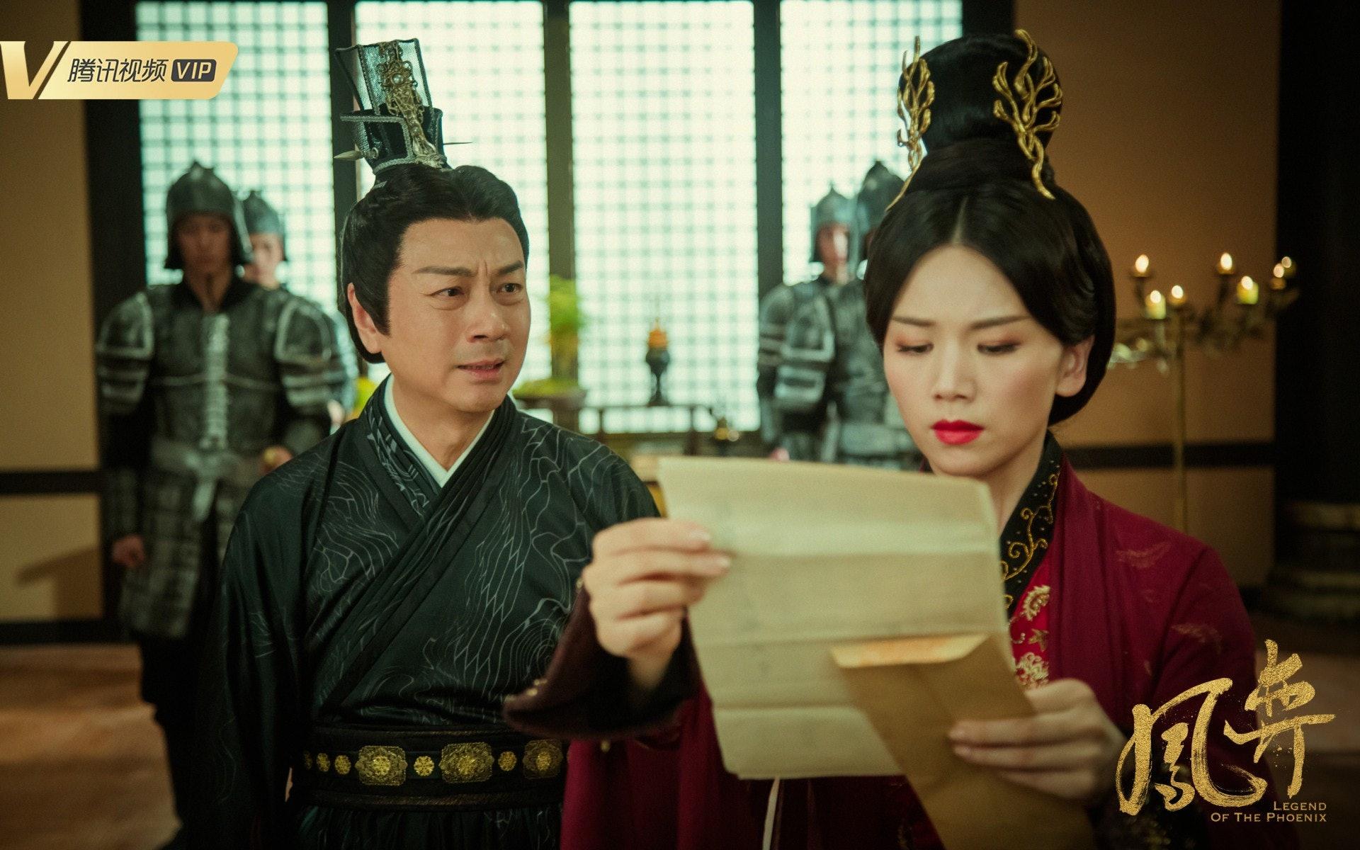黎耀祥首拍的內地劇將在TVB播出。(《鳳弈》微博圖片)