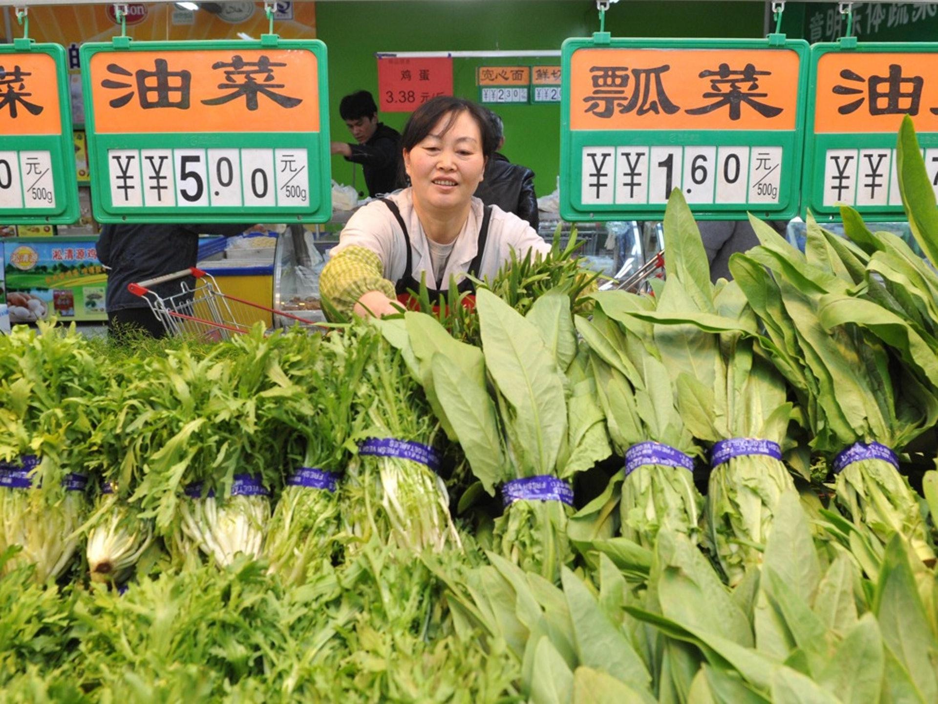通貨膨脹水平虛高也成為影響減息的宏觀因素之一。(新華社)
