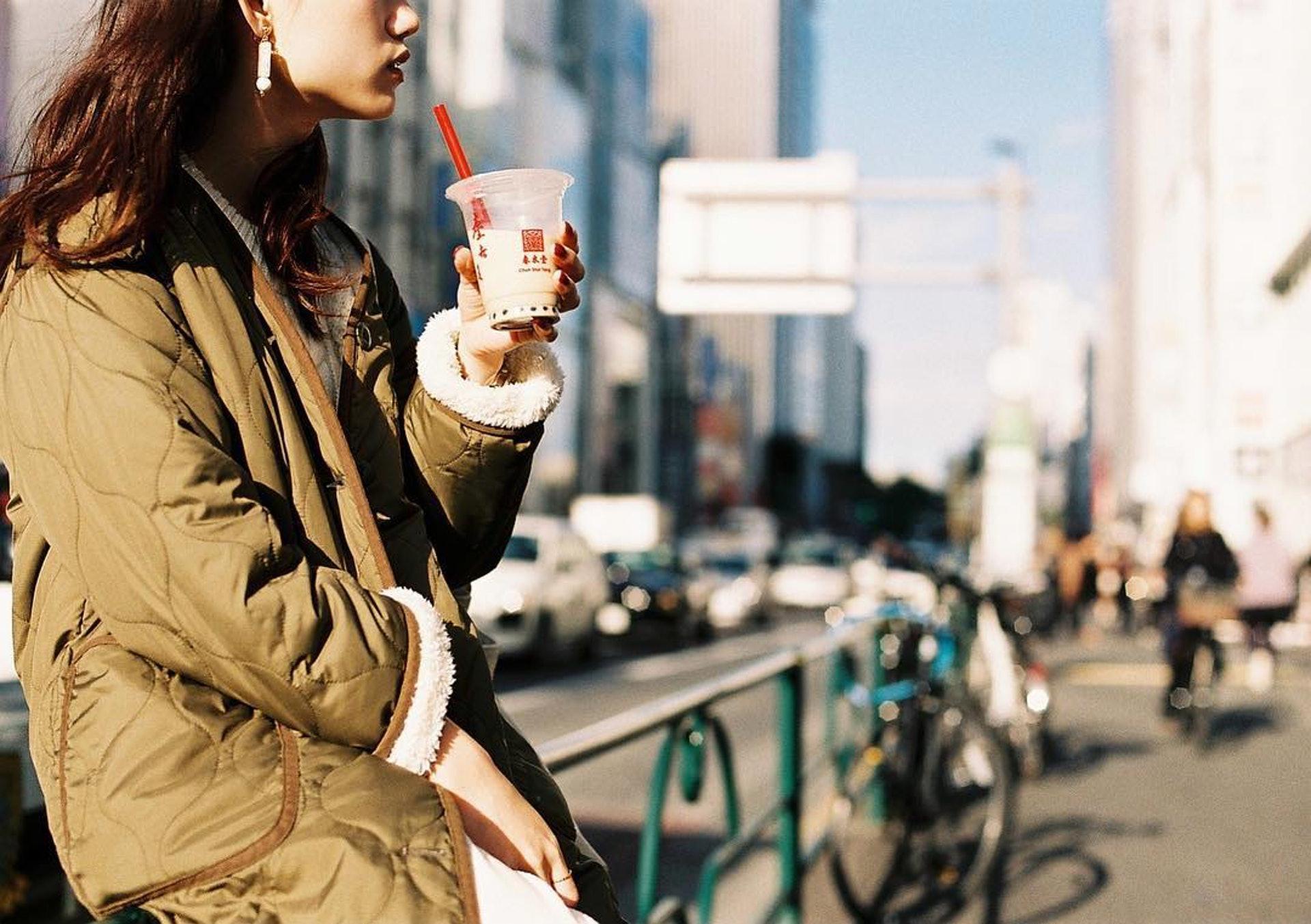珍珠奶茶非常適合拍照貼在Instagram(IG)上。(Instagram@chunshuitang)