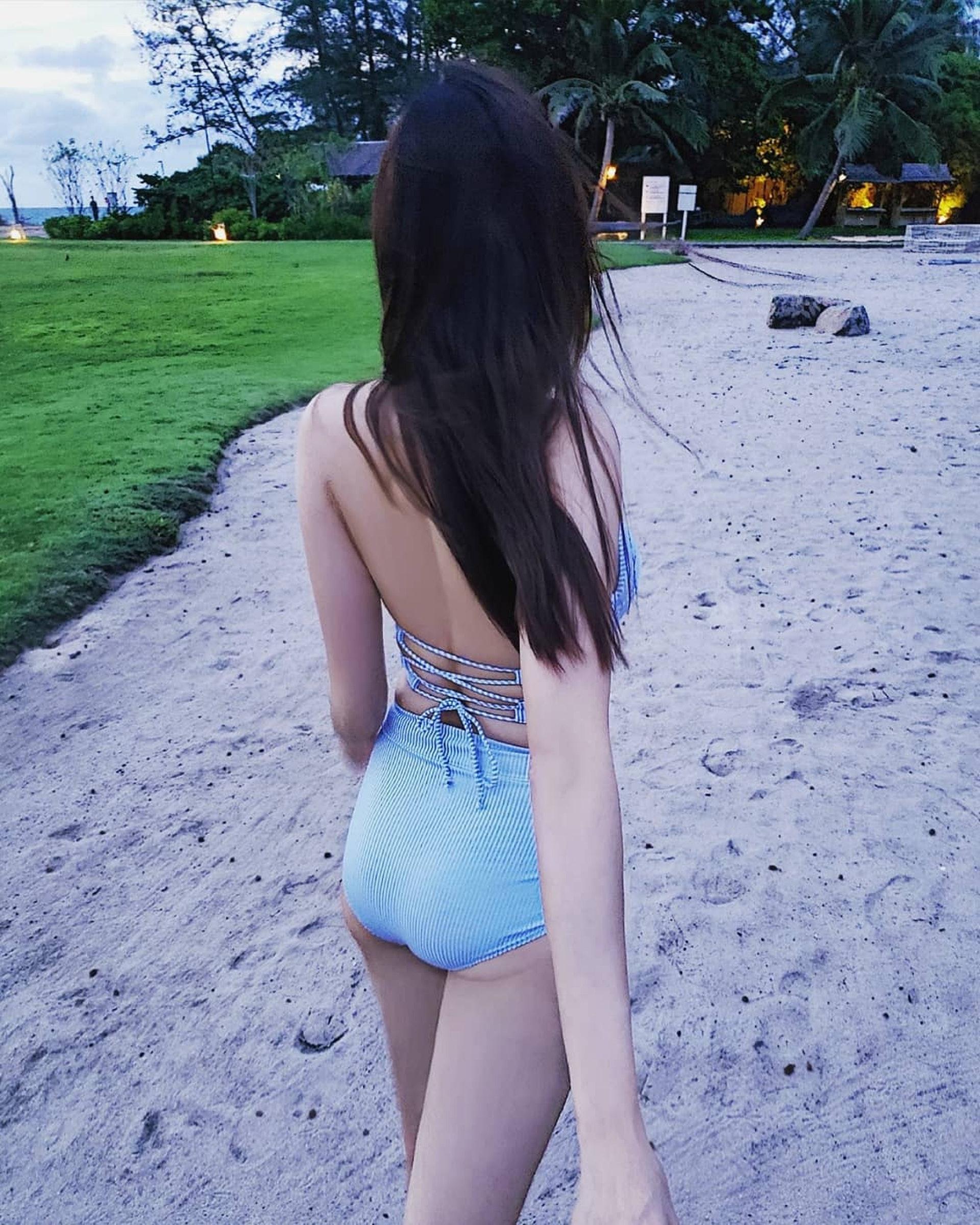 身材好fit。(Instagram@kimmylow717)