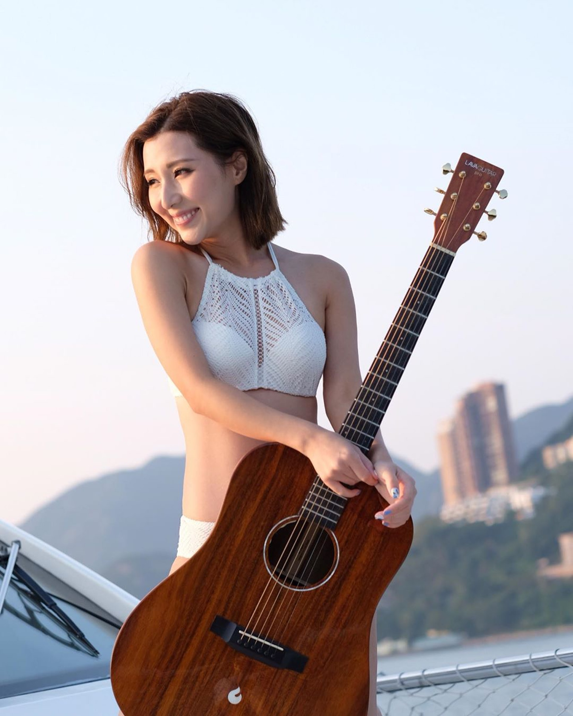 譚嘉儀2011年參加無綫電視歌唱選秀節目《超級巨聲3》奪取季軍而加入娛樂圈。(Instagram/@kayeepo)