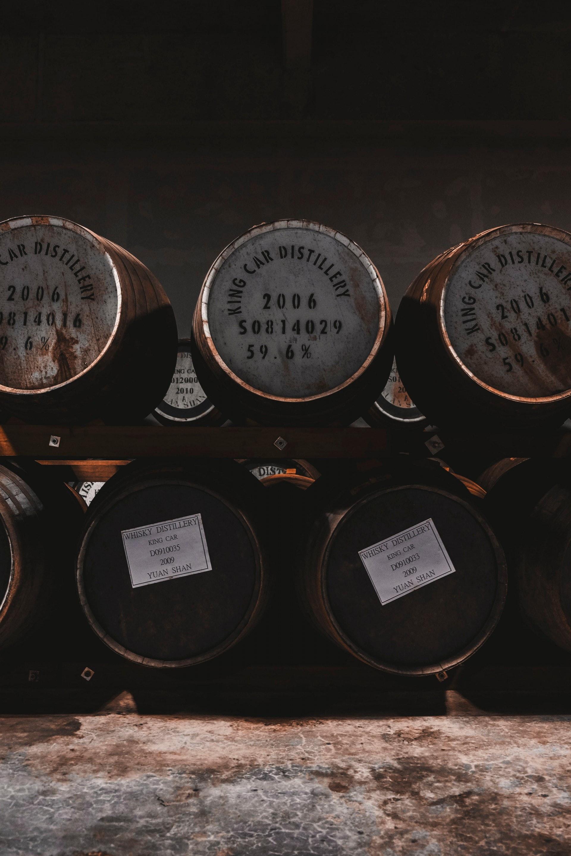 不論是威士忌還是白蘭地,其風味來源主要在於木桶。