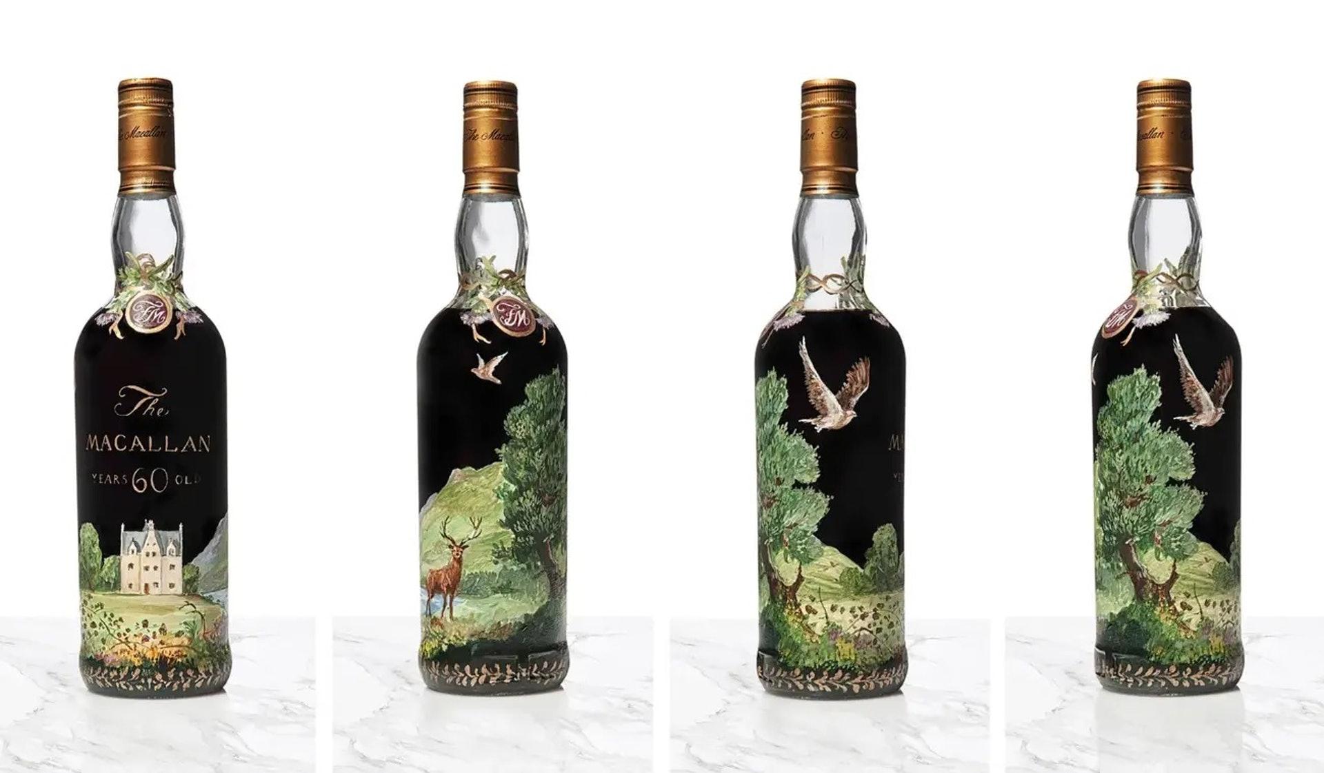 現時世界上的烈酒拍賣紀錄,前端者大部分都是威士忌。