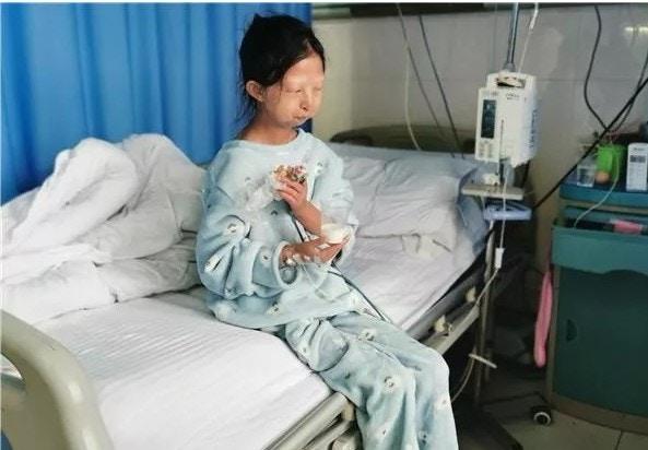Wu Huayan, seorang mahasiswi 24 tahun
