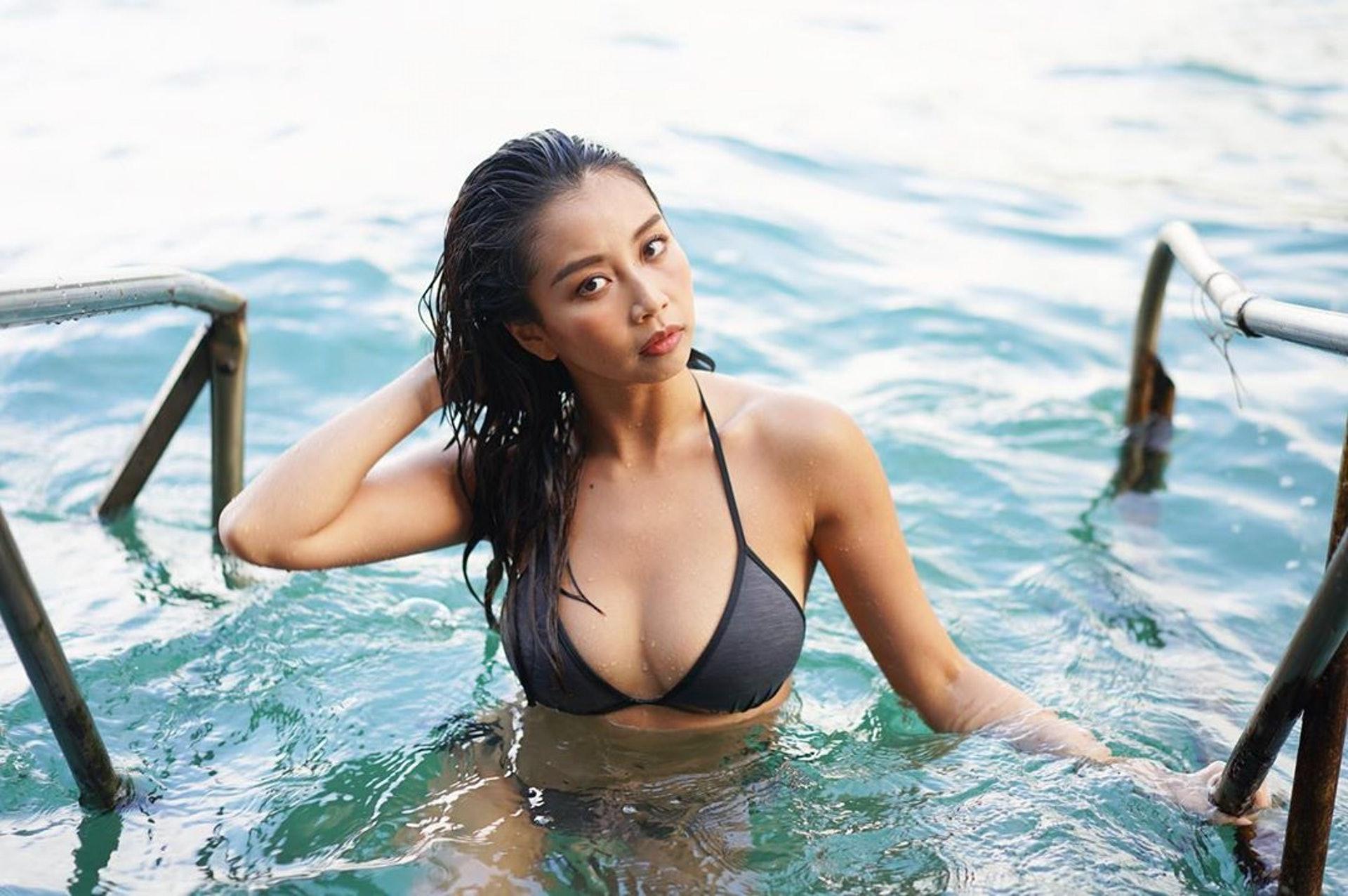 25歲何泳勺相信好快成為宅男女神。(IG:honeyho_mermaid)