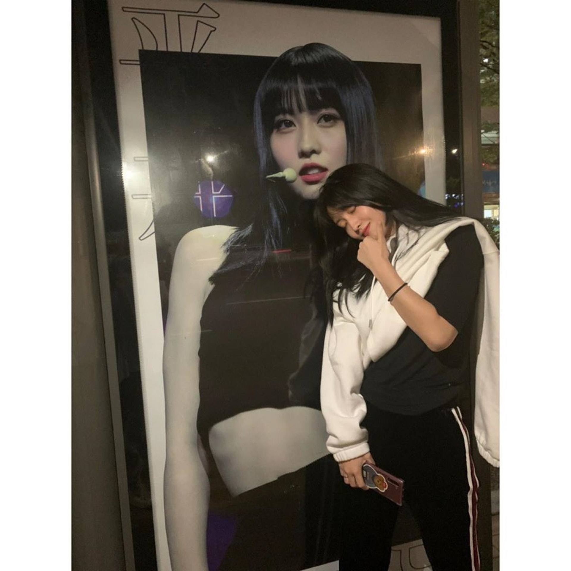 Momo當然有認證粉絲的生日應援。(IG/@twicetagram)