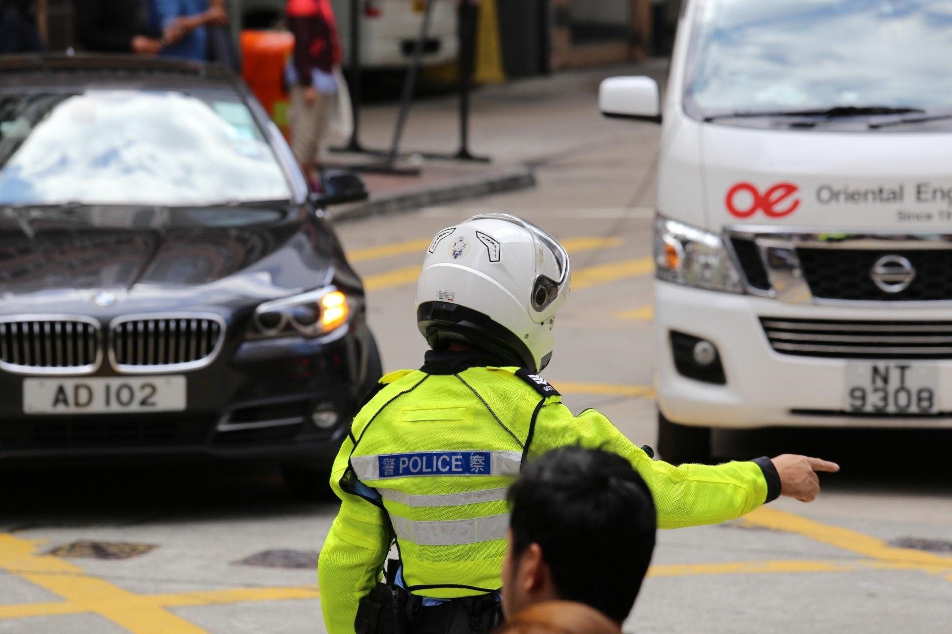 交通警。(資料圖片)