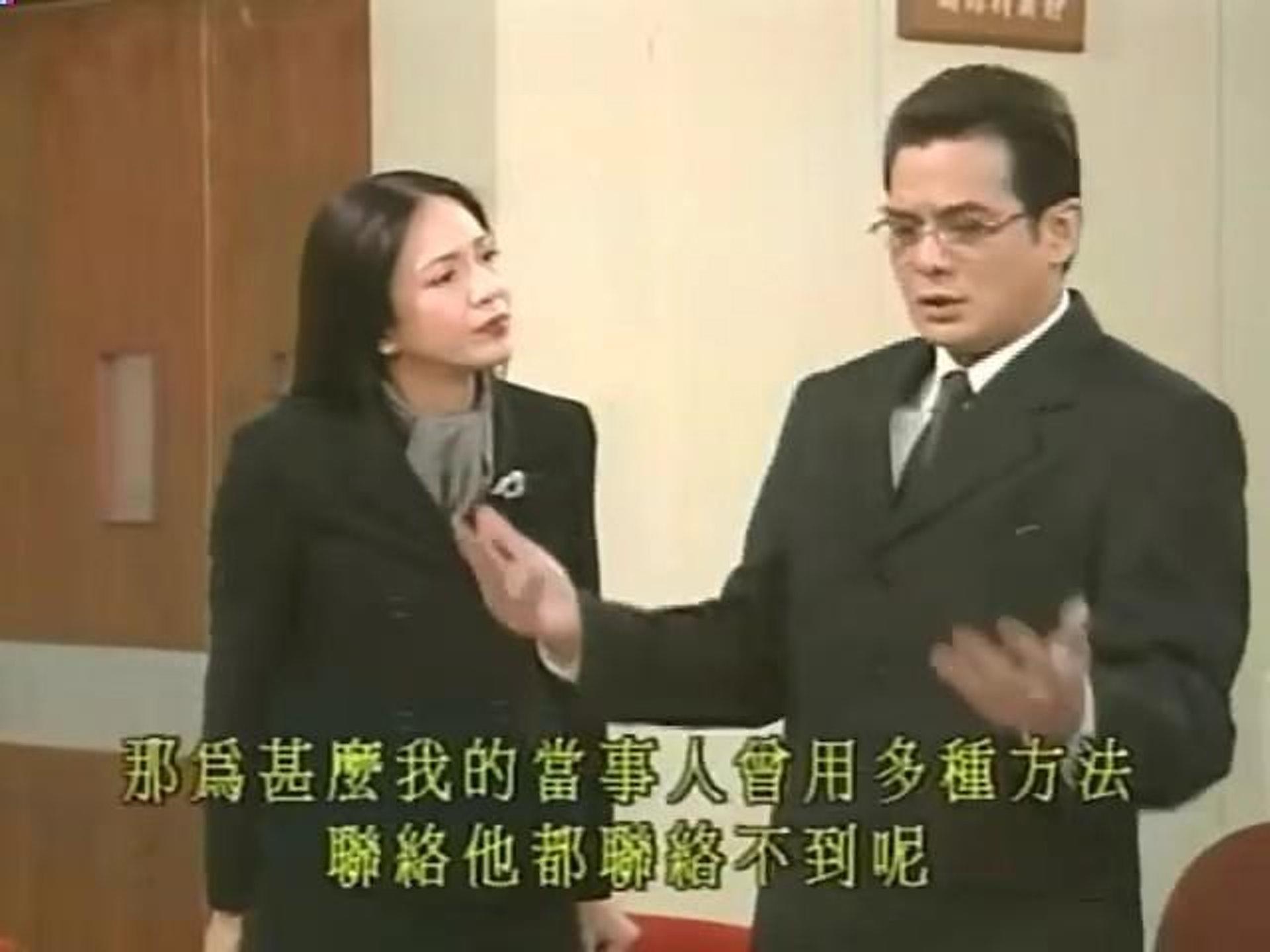 李國麟宜忠宜奸亦懂得演繹諧角,《男親女愛》Alex Pao角色搶鏡,同子華同Do姐好有火花。(《男親女愛》截圖)
