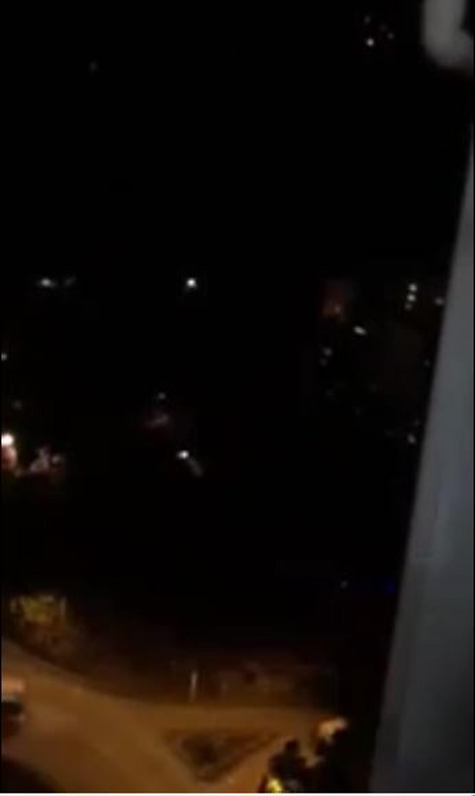 粉嶺PTU基地傳出疑似槍聲。(網上片段截圖)