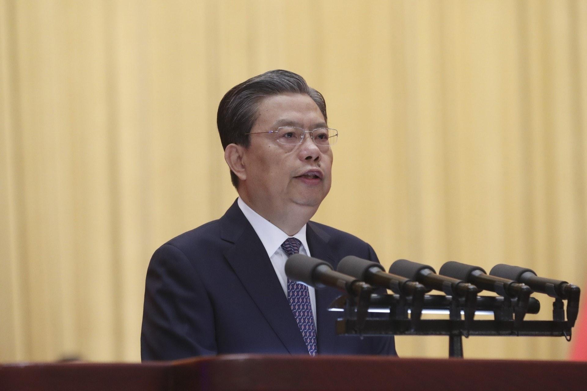 由2013年至2016年,趙樂際(圖)兩次向中央推薦提名駱惠寧出任重職。