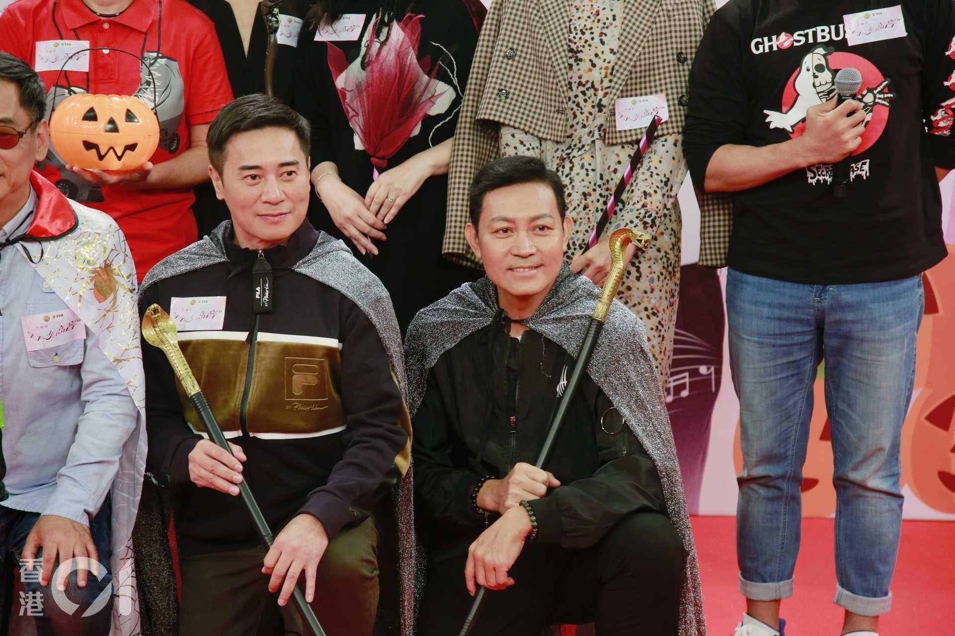 10月31日出席活動時,曾偉權已經消瘦了不少,當時他也向《香港01》記者承認肺部出現健康問題。(資料圖片)