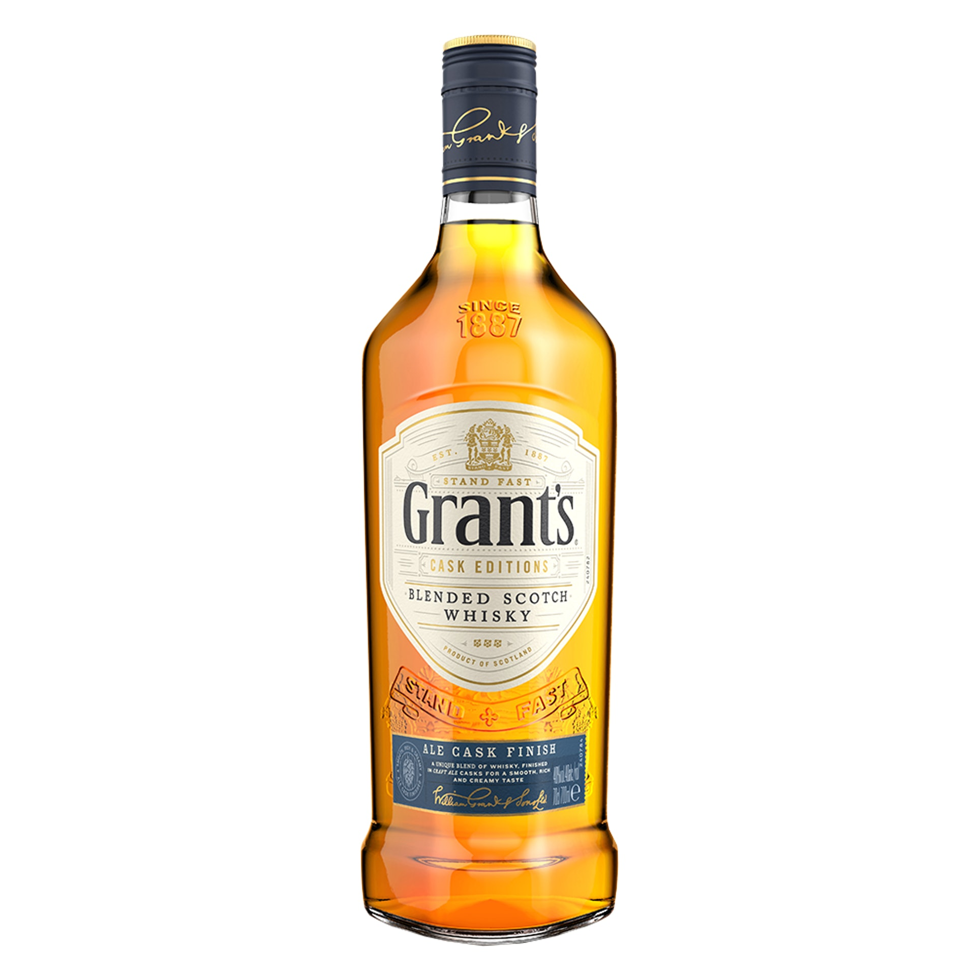 Grant's Ale Cask Finish Whiskey(圖片來源:Grant's Whiskey)