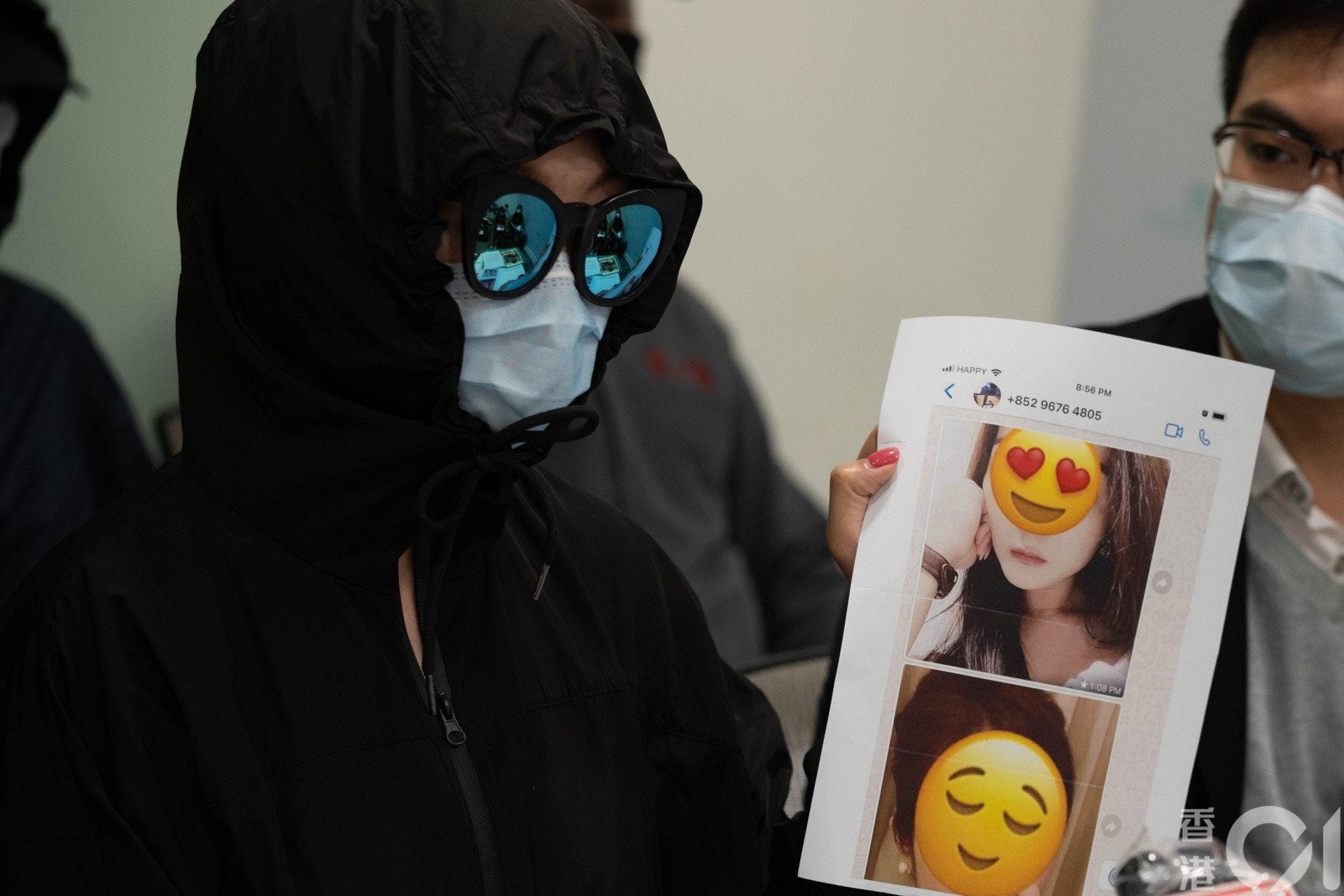 前員工Nana去年4月至11月於涉事公司工作,曾目擊老闆以朋友上載至facebook及instagram的照片,偽裝成會員照片發給顧客。