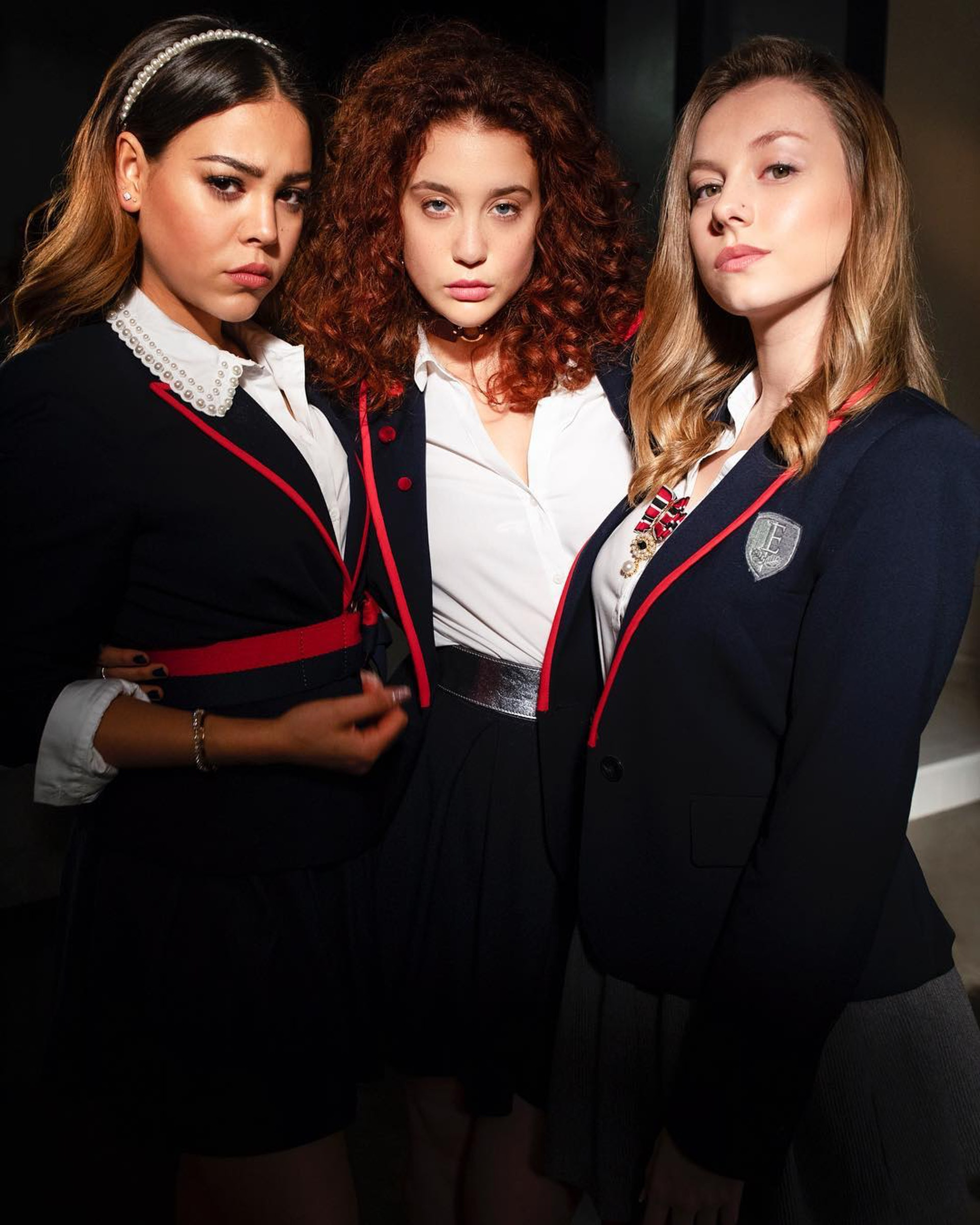 Ester在Netflix西班牙原創校園劇《名校風暴》(Elite)中飾演Carla。(IG@ester_exposito)