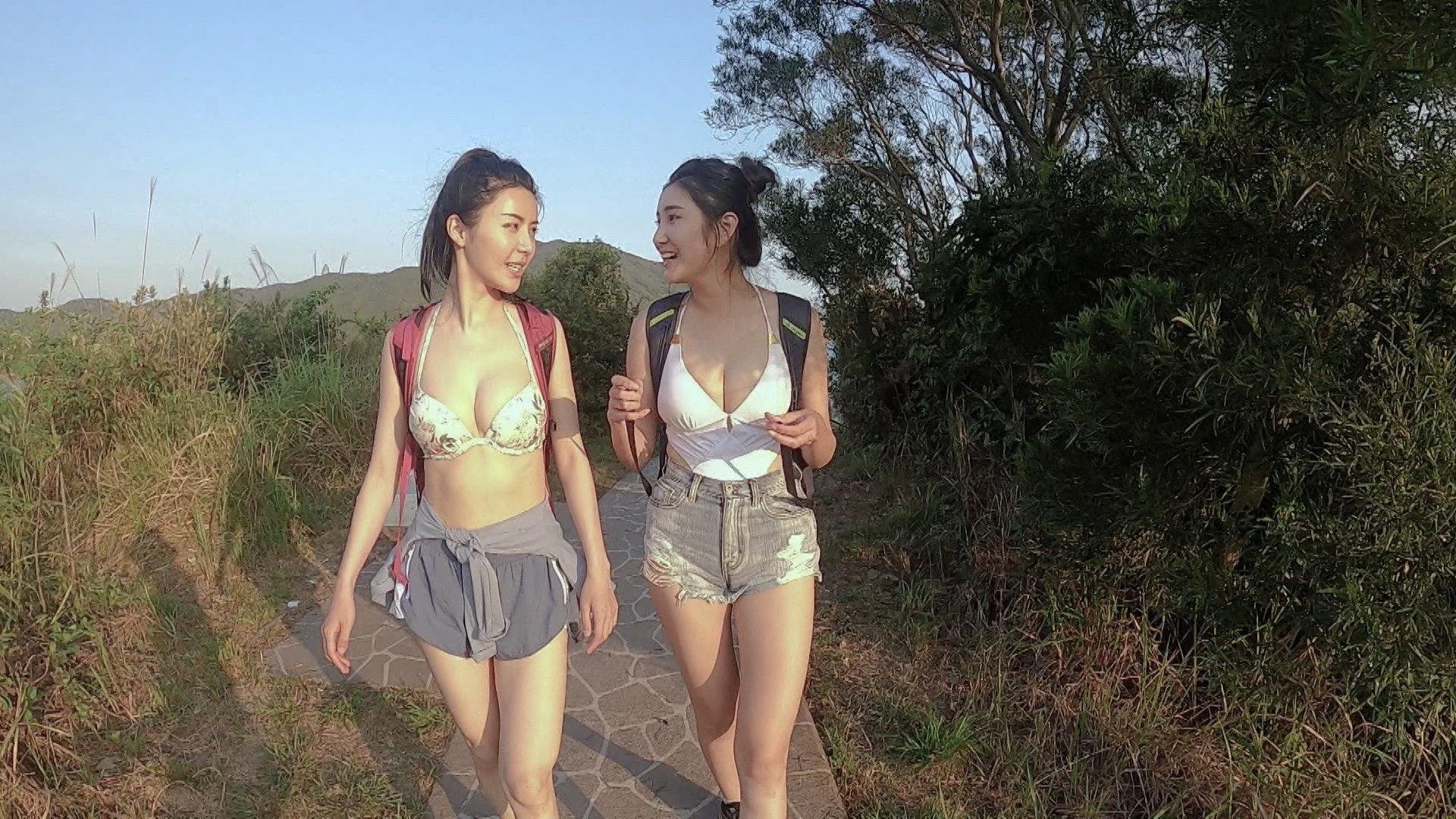 《美女郊遊遊》由沈殷怡和陳欣妍主持,甚得觀眾喜愛。(ViuTV)