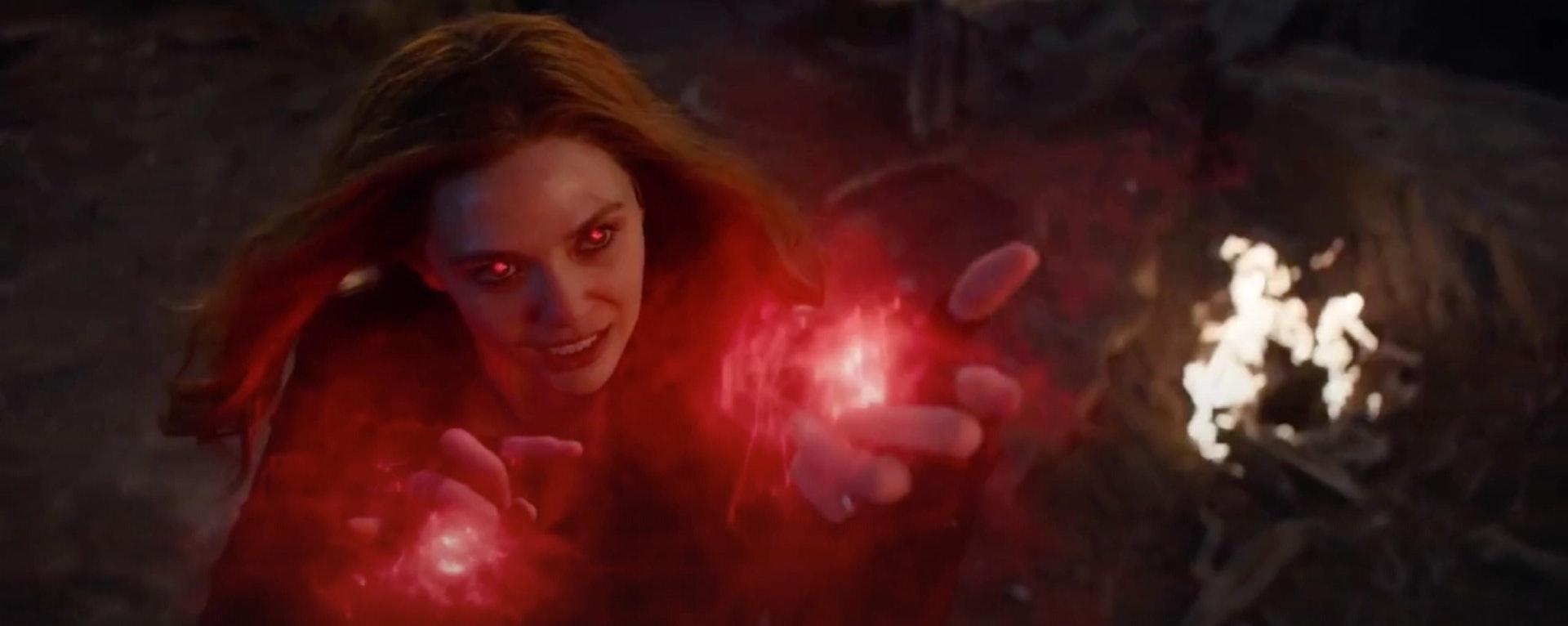 《WandaVision》的故事发生在《复仇者联盟4》之后。(《复仇者联盟4:终局之战》剧照)