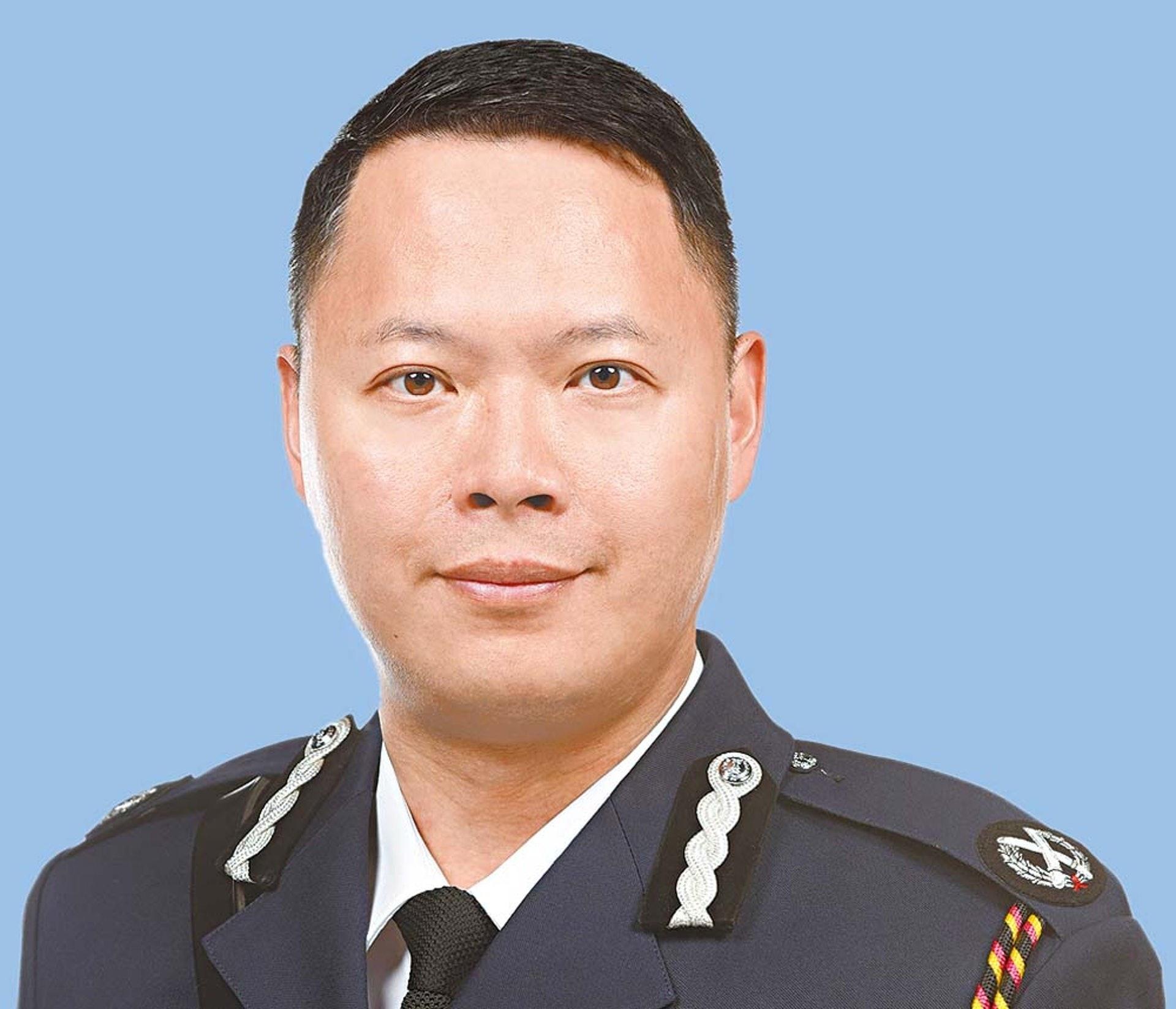 副手會是長期任職保安部、剛升任高級助理處長的蔡展鵬(警聲圖片)