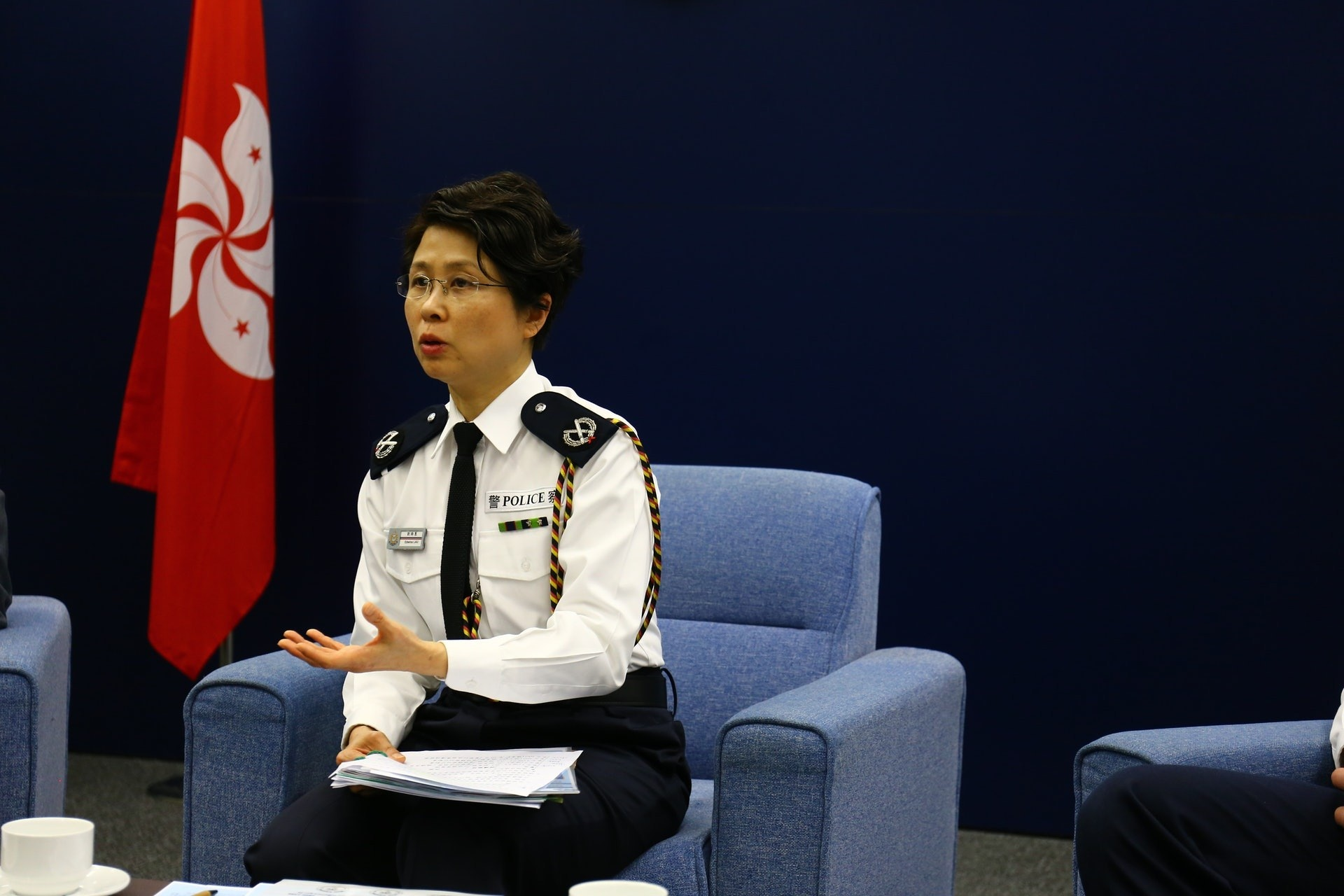 劉賜蕙將升任副處長執掌國安部門後,將成為歷史上第二位最高級女警。(資料圖片/魯嘉裕攝)