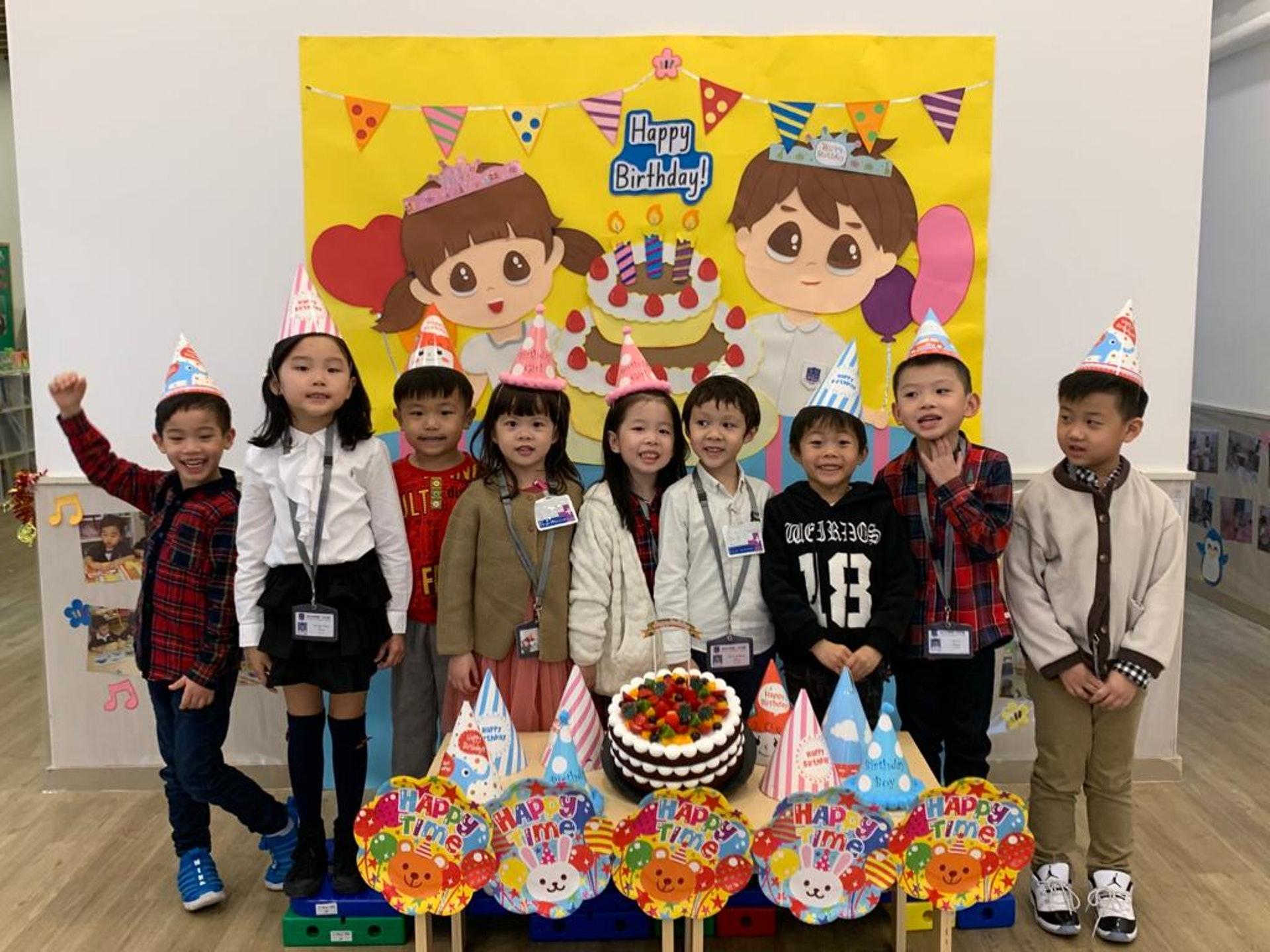 德萃幼稚園將會安排線上生日會,讓學童有機會與他人接觸,認識新朋友。(受訪者提供)