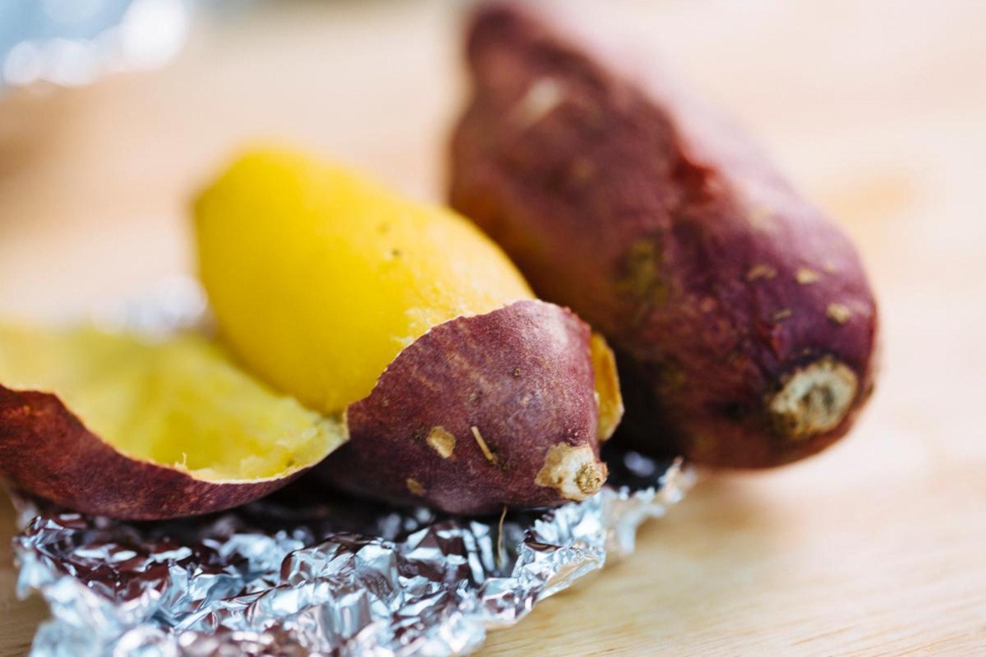 番薯的膳食纖維比菠菜、蘋果、橙高。(資料圖片)