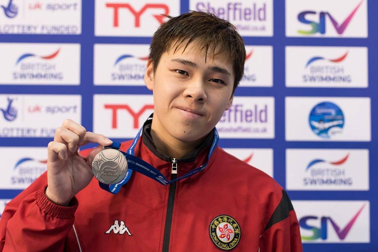 殘奧游泳鄧韋樂