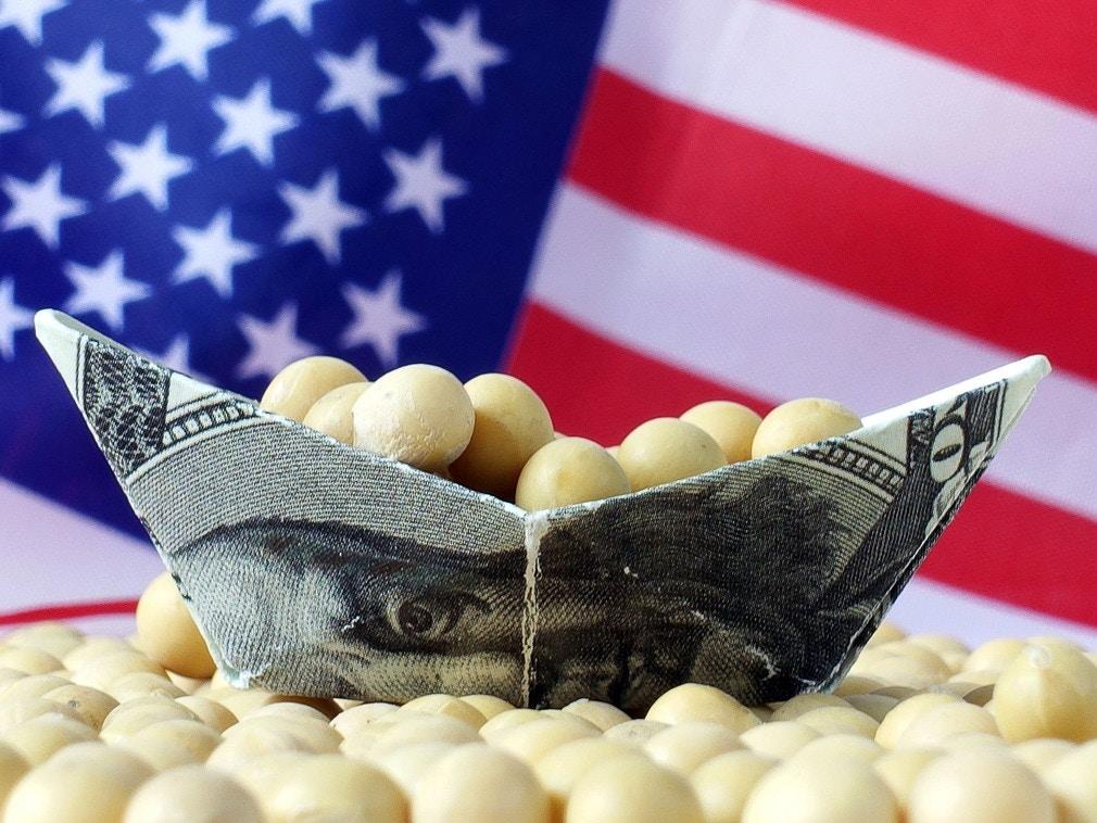 中美副部级谈判结束后 中国购买10船美国大豆