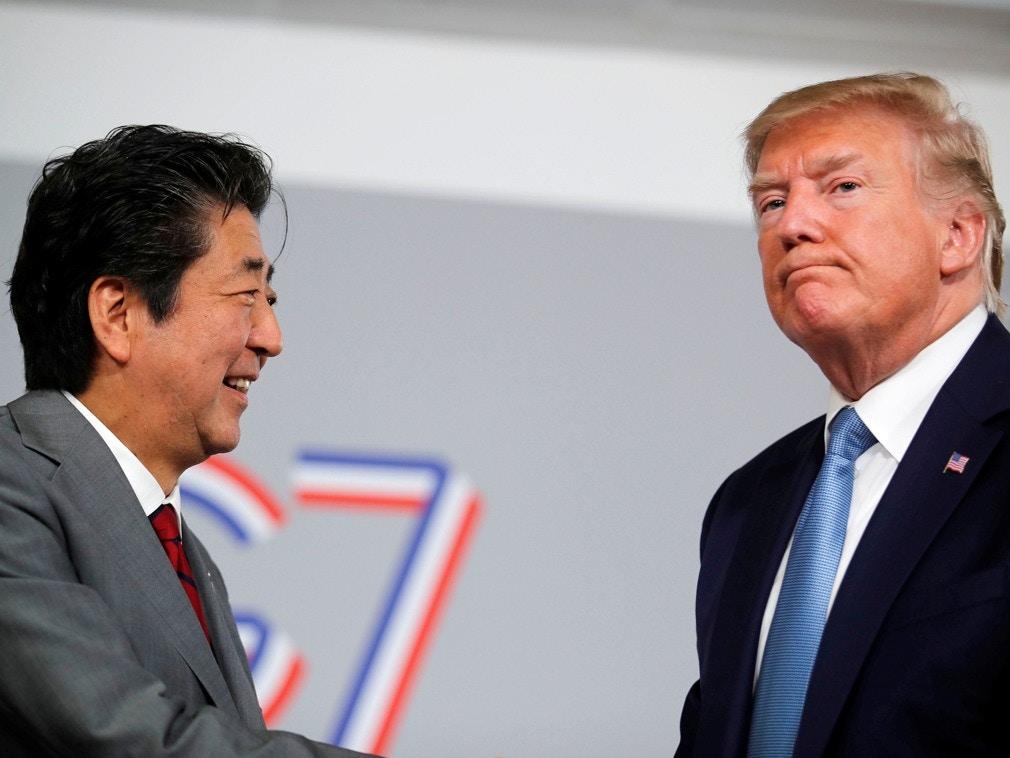 贸易谈判内幕披露 美国全程掌控逼迫安倍晋三