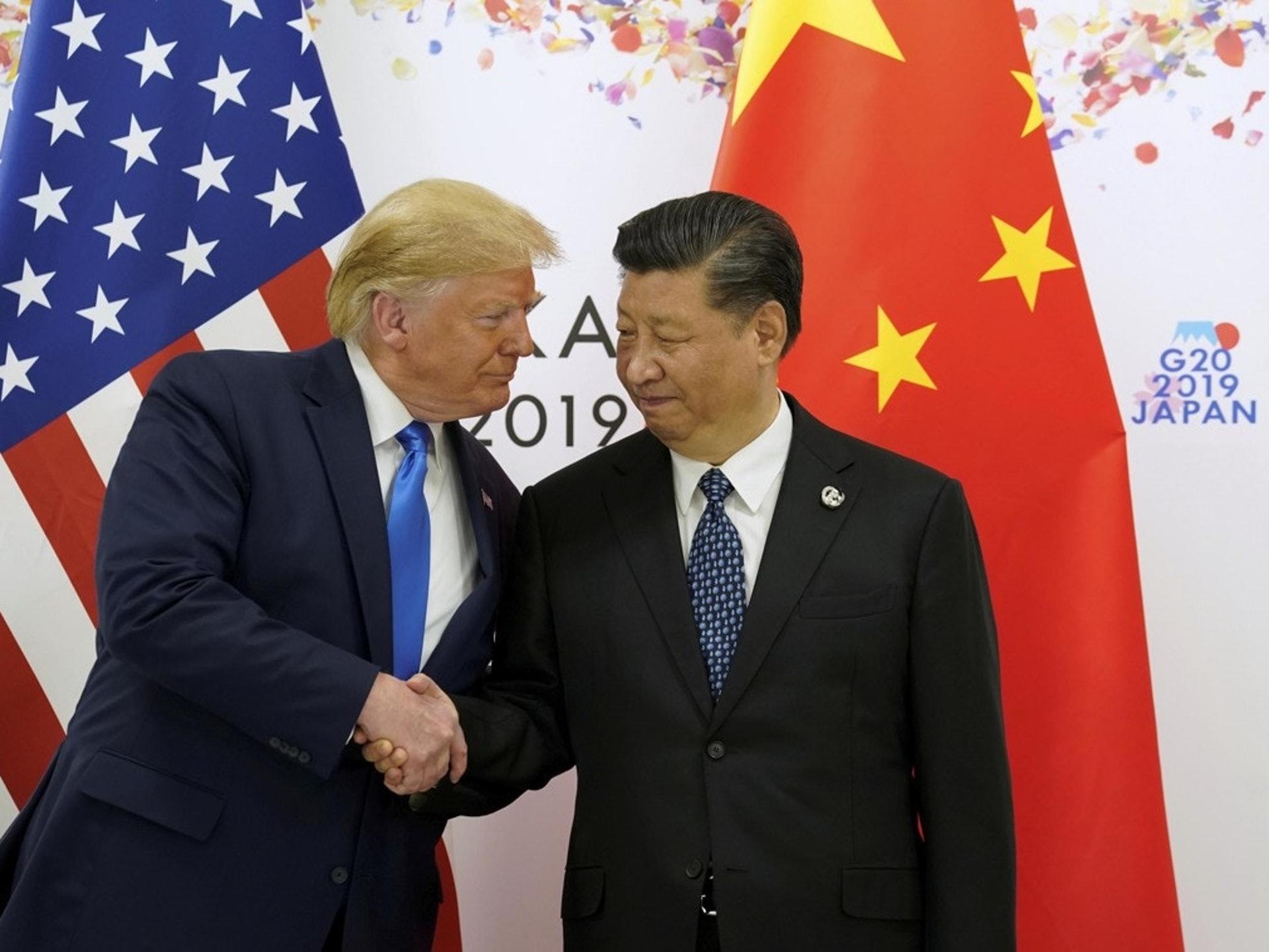 特朗普曾於10月29日表示有望提前同北京簽署貿易協議。(路透社)