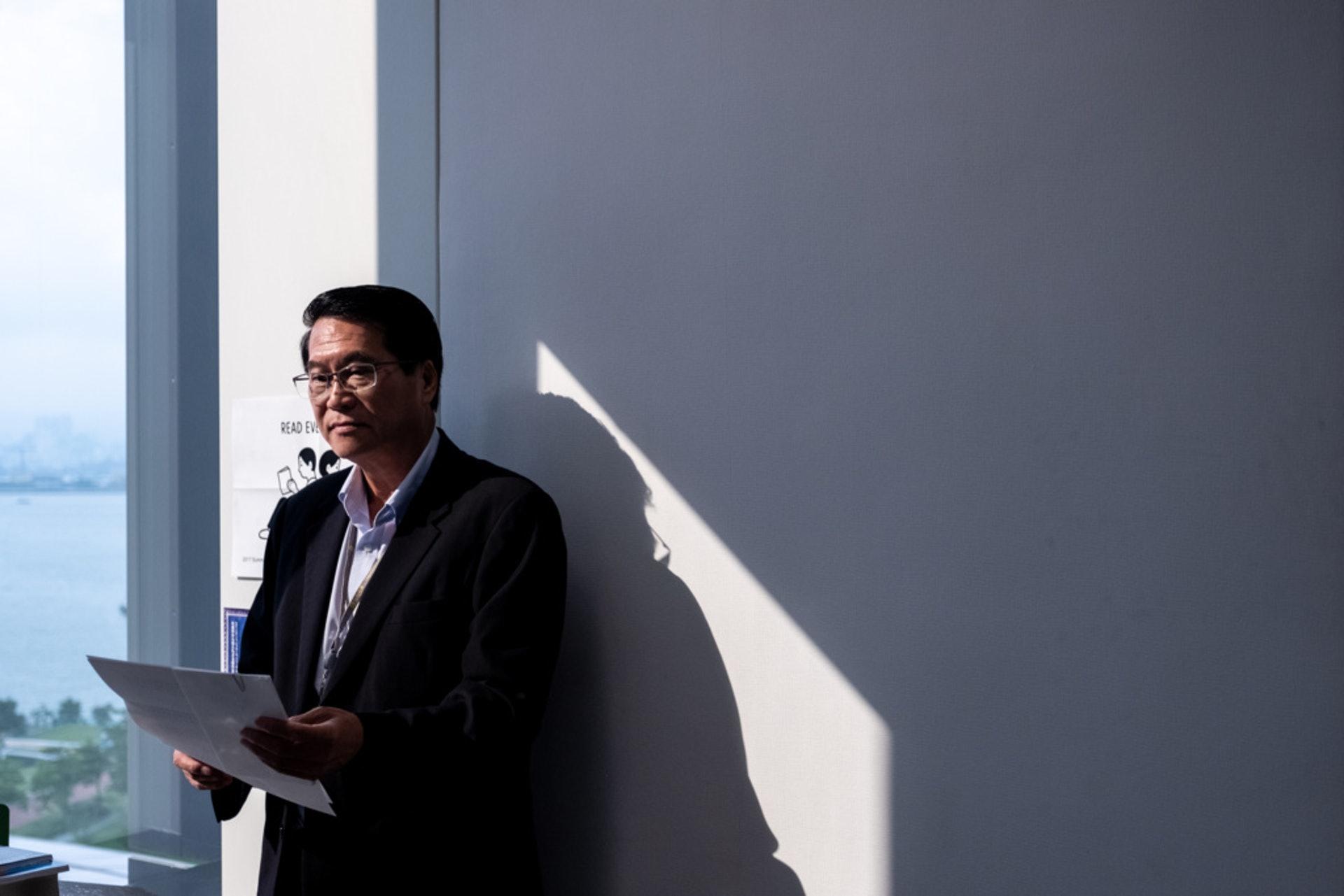 潘兆平認為,政府的勞工政策並未有跟上互聯網經濟發展。(歐嘉樂攝)