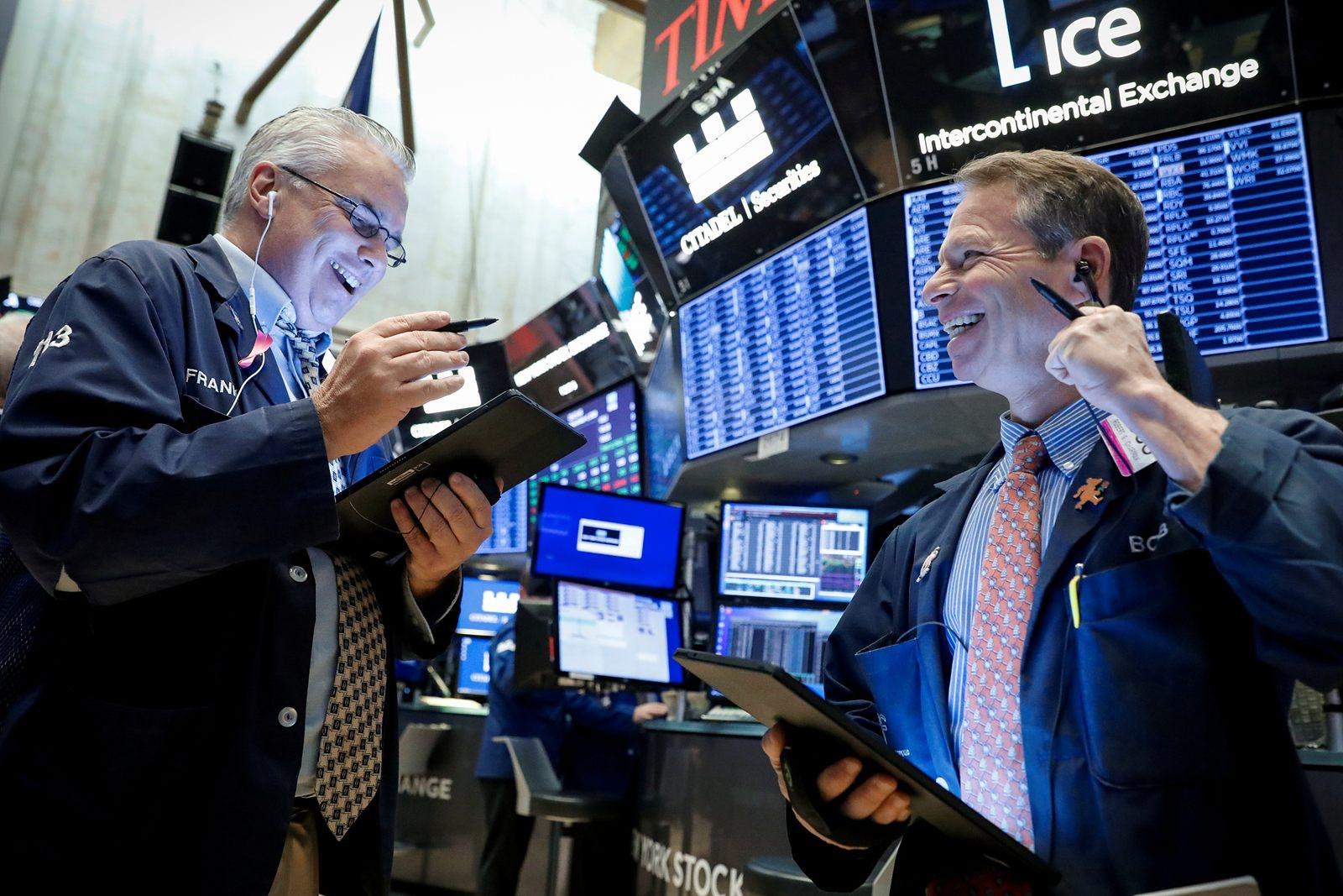 憧憬中美尽快签署第一阶段协议 美股突破历史记录