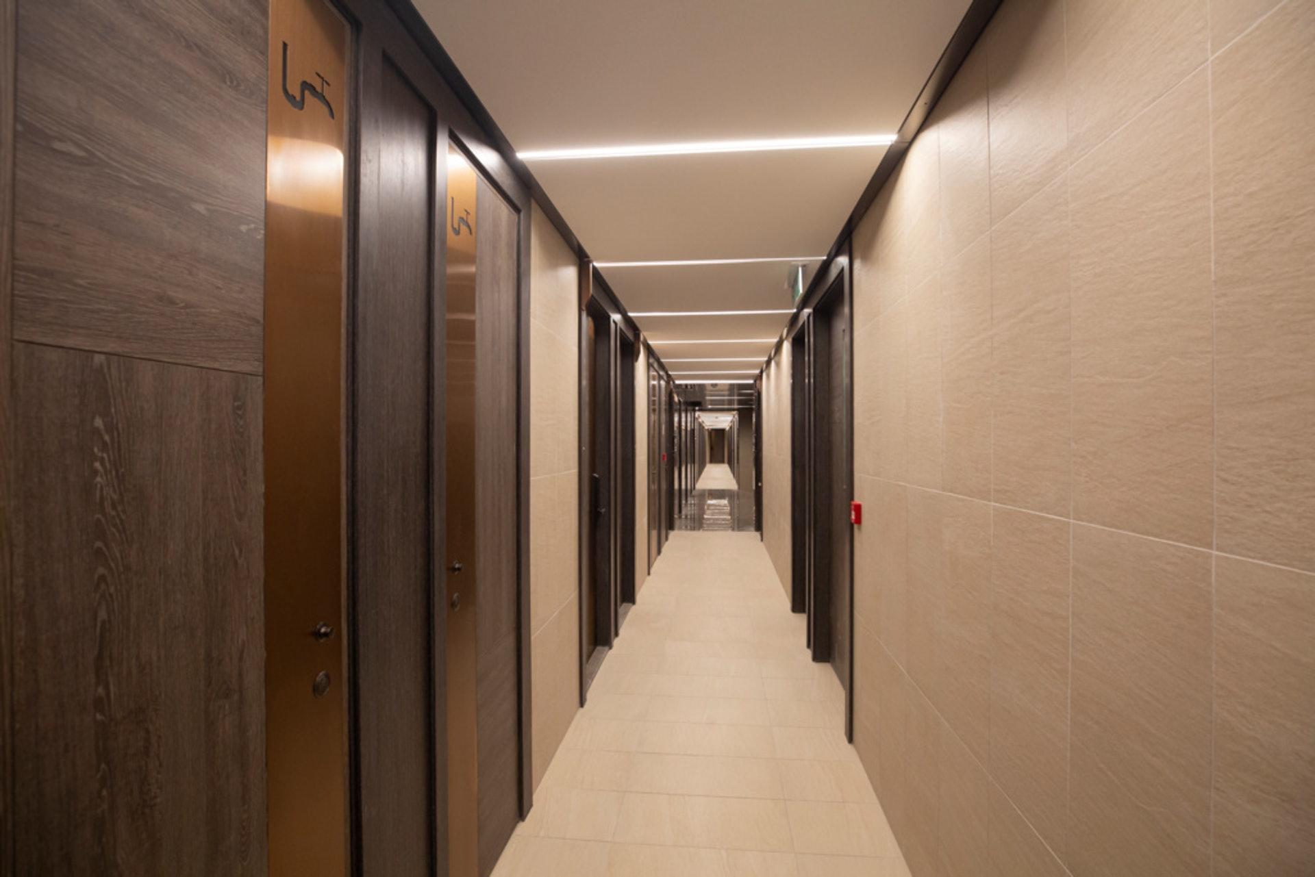 菁雋一層共有36個單位,尤其以128方呎「龍床盤」最受關注。﹙資料圖片﹚
