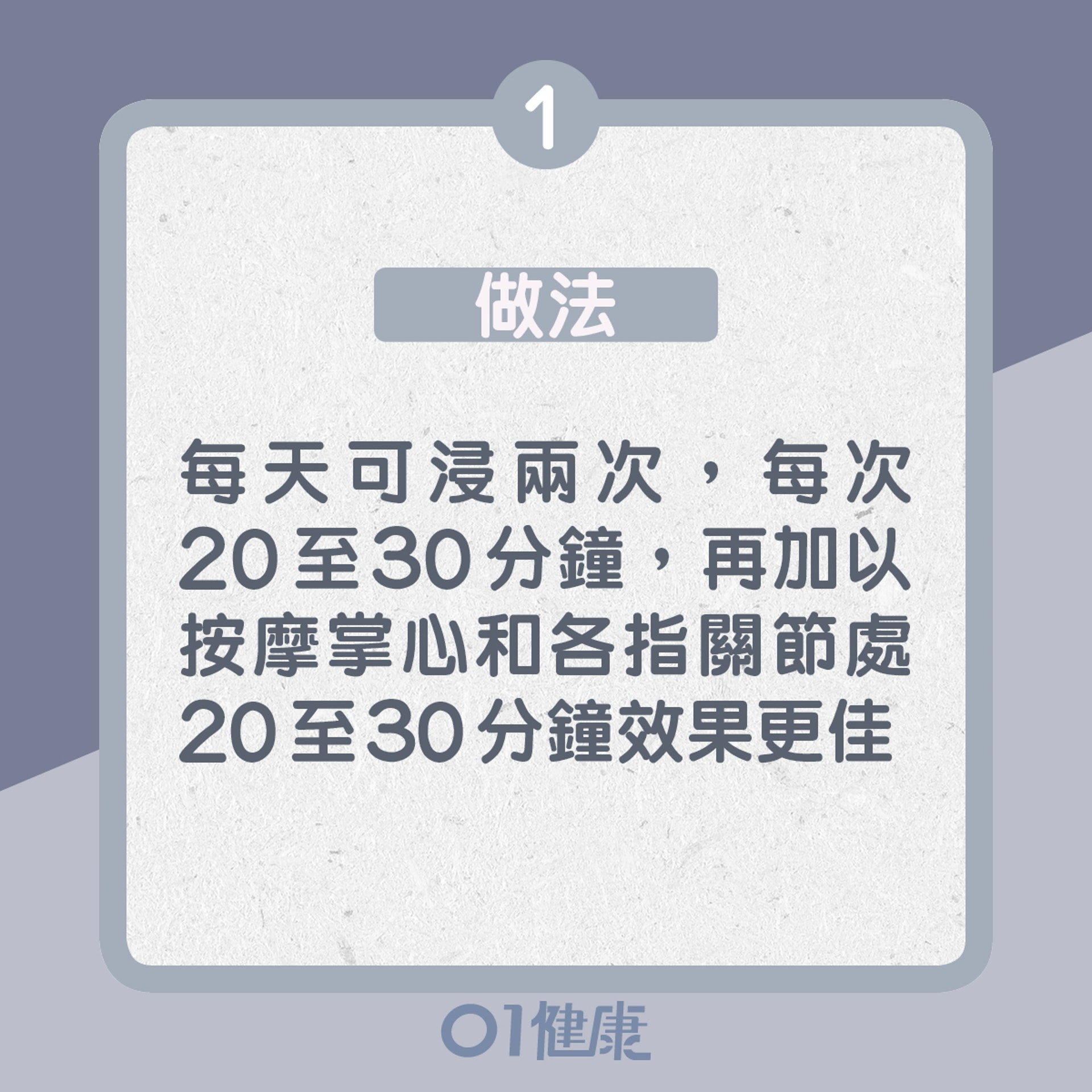 1. 陳薑皮泡手方:做法(01製圖)