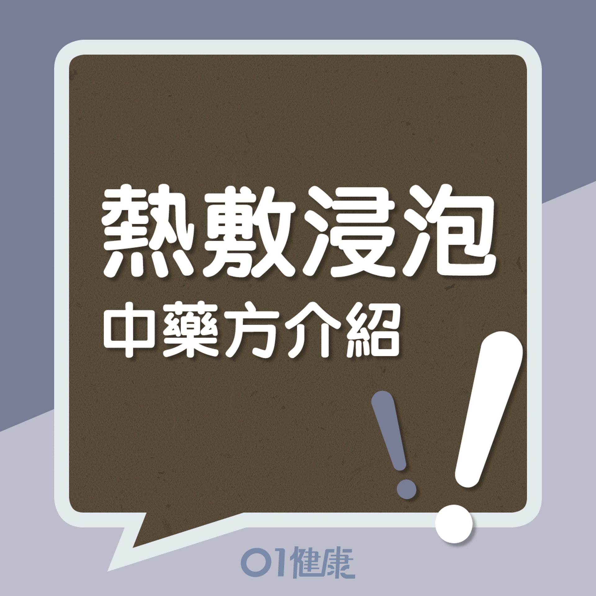 熱敷浸泡中藥方介紹!(01製圖)