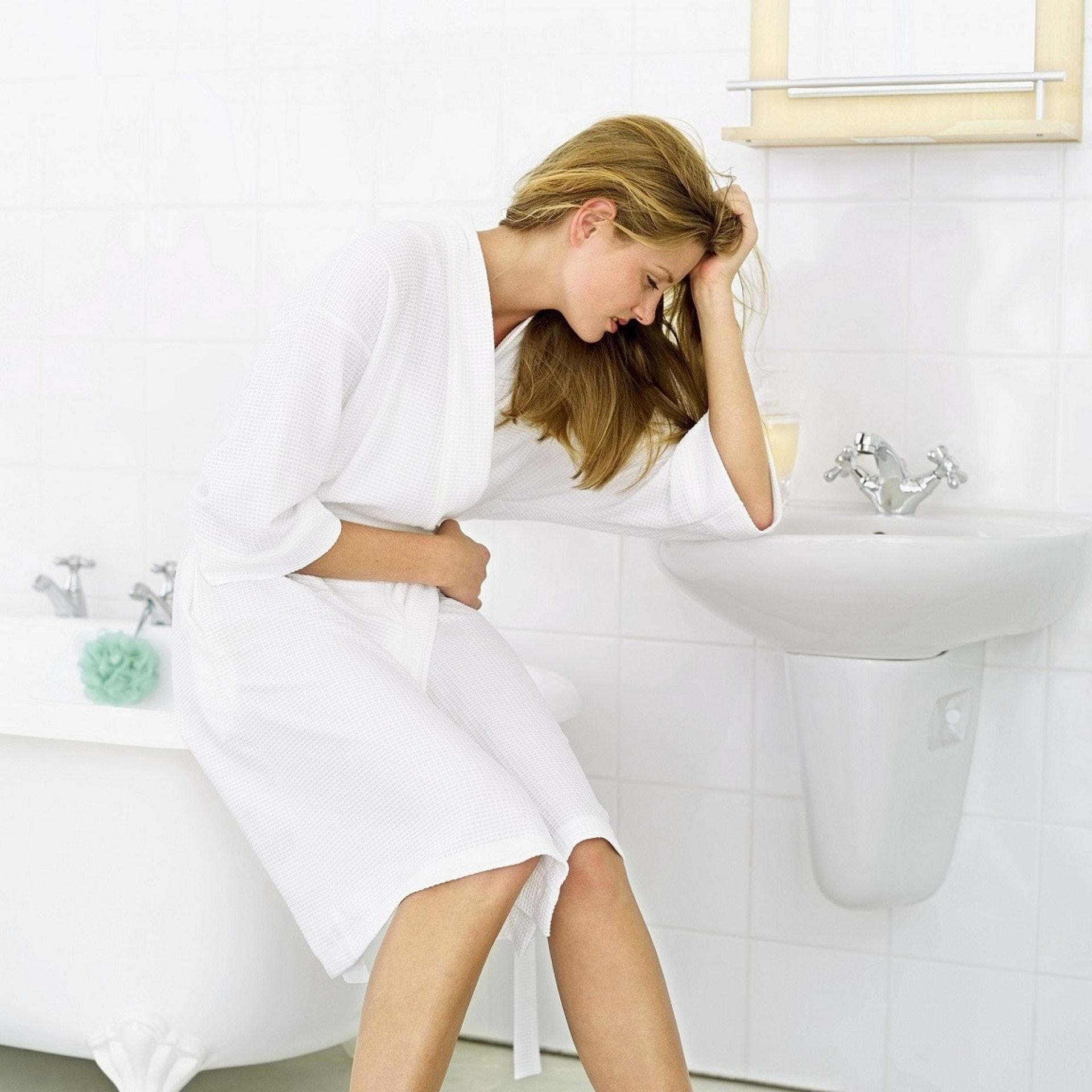 基於先天結構,婦女比較容易發生泌尿道感染。(VCG)