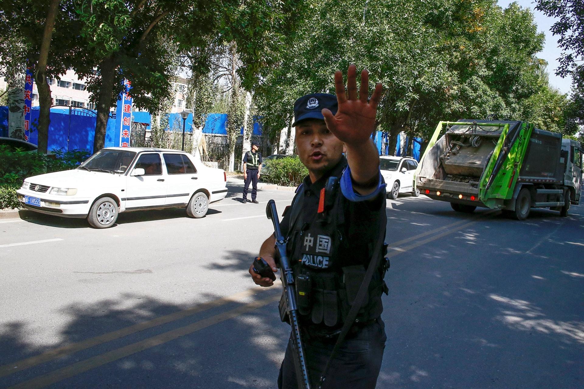 中共铁腕治疆,新疆形势较往年大为好转,但仍遭遇西方意识形态的偏见。(Reuters)