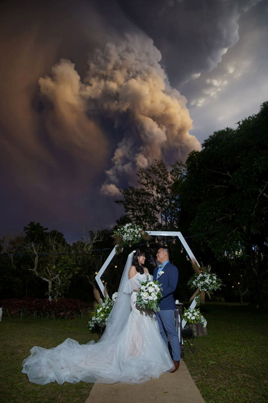 Boda Volcán