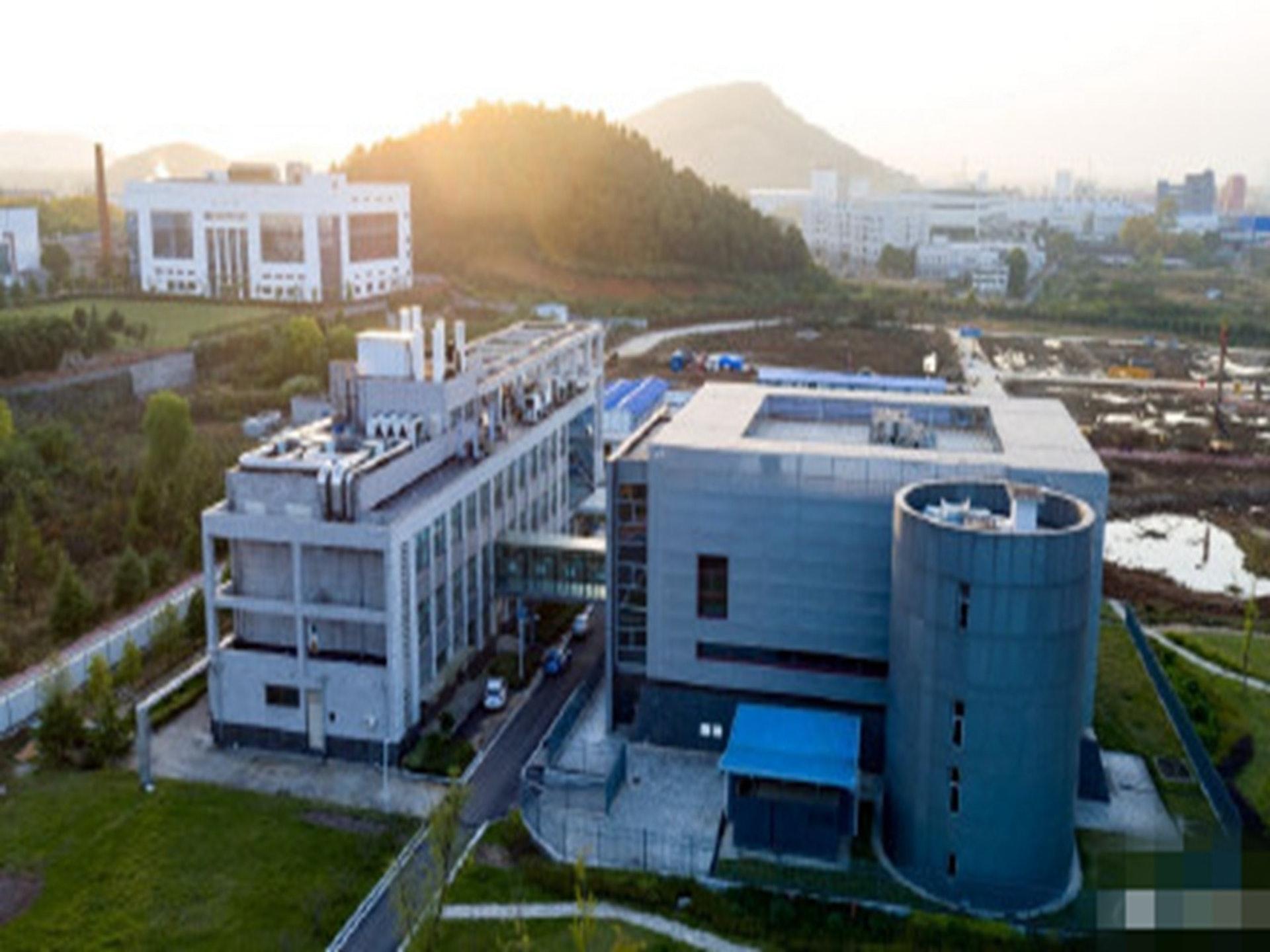 坐落在武汉的P4病毒研究室。(微博@朱毅)