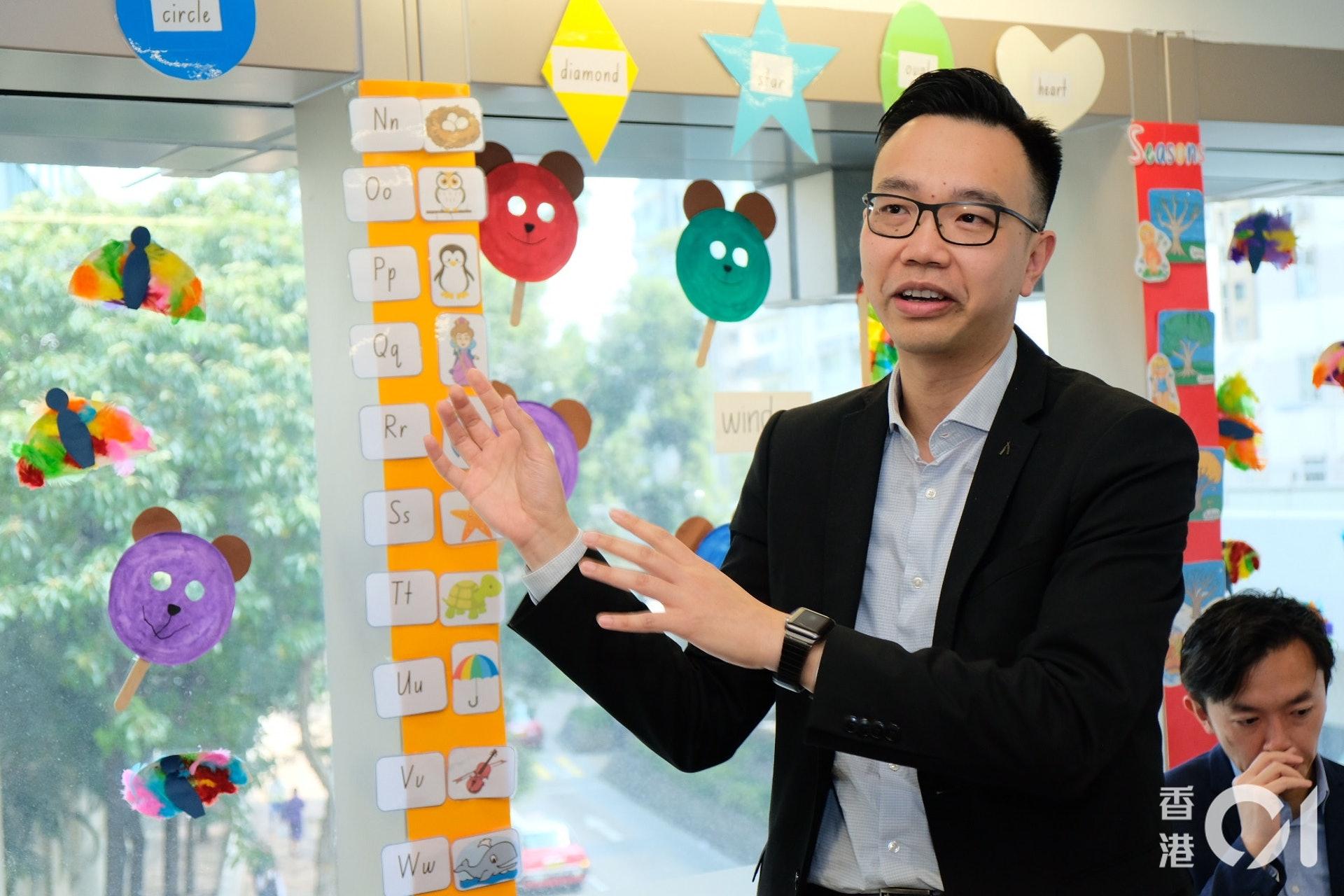 德萃小學總校長朱子穎(資料圖片)歐嘉樂攝