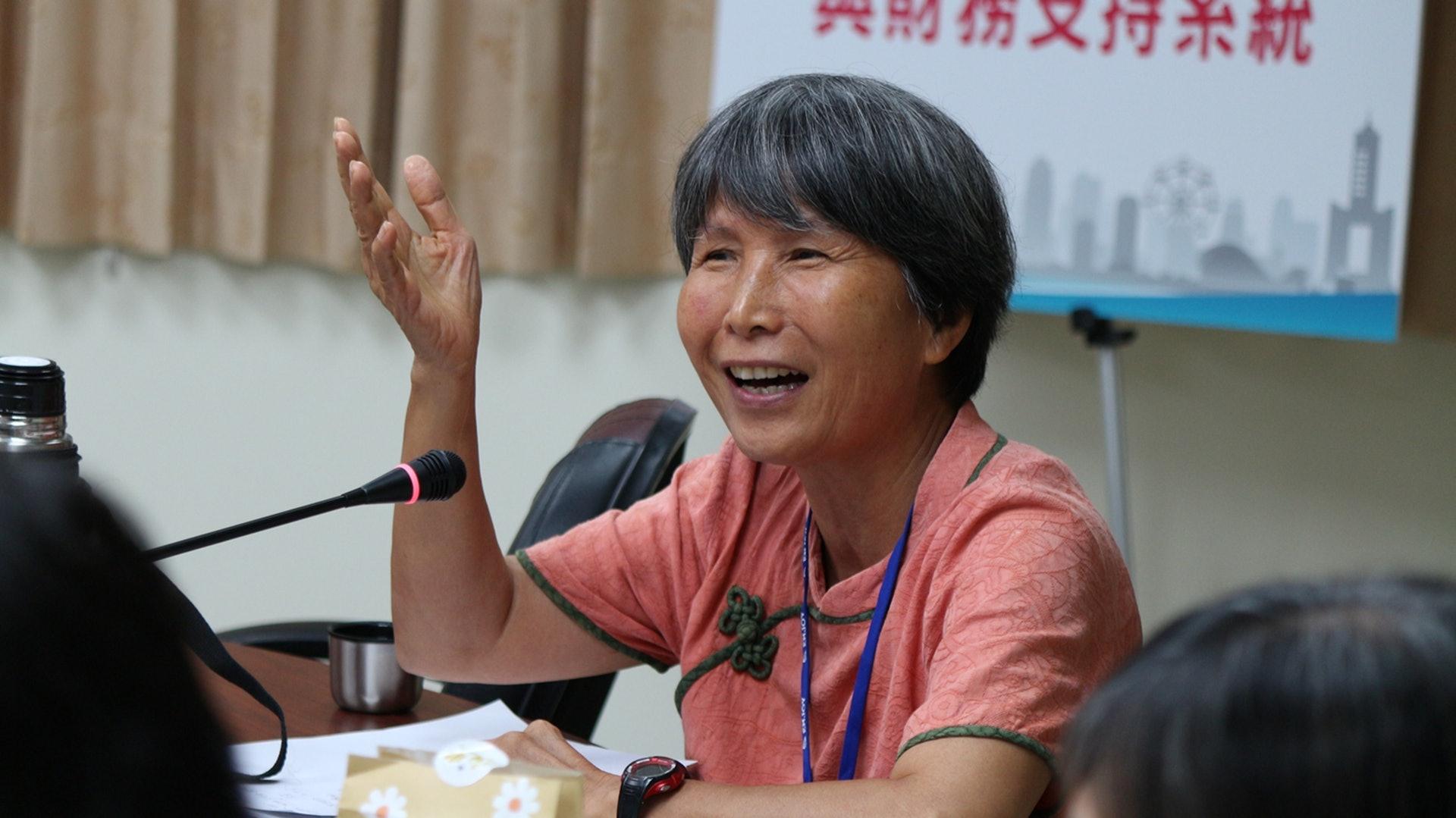 陳美霞教授長期關注兩岸公衛體系,點出兩岸目前制度的缺陷。(台灣衛生促進協會提供)