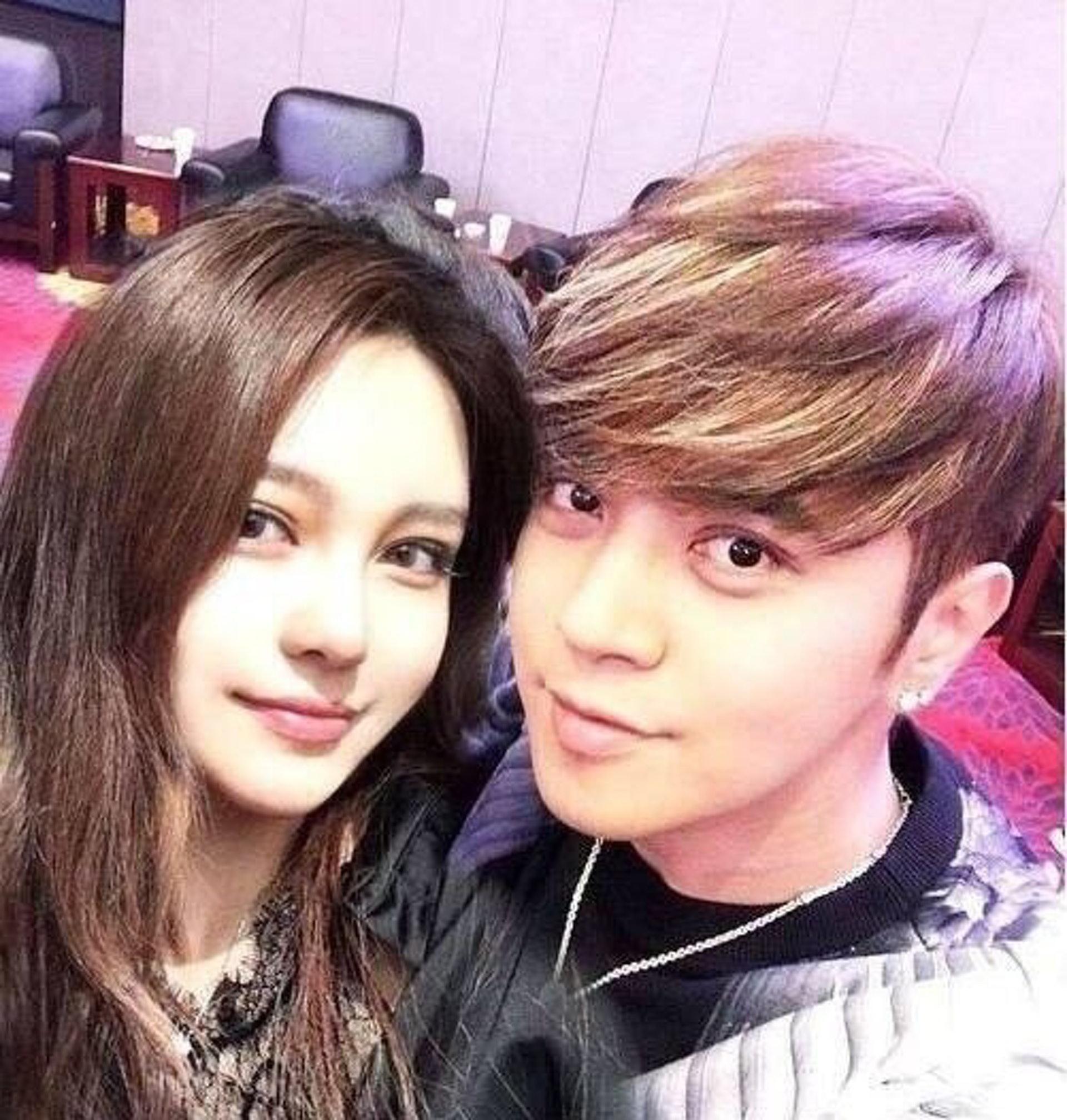 40歲的羅志祥與31歲的周揚青曾相戀9年,但今日(4月23日)公開分手。(網上圖片)