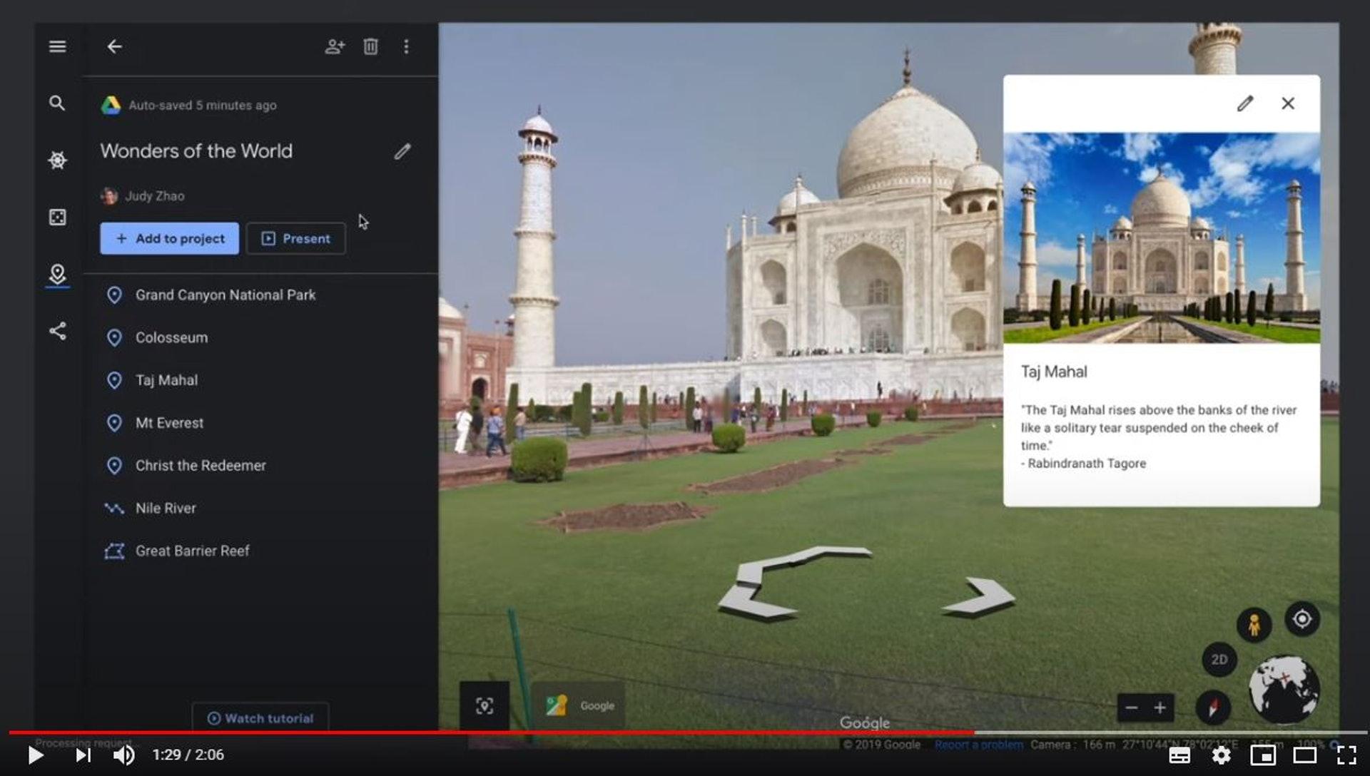 Google Earth影片截圖