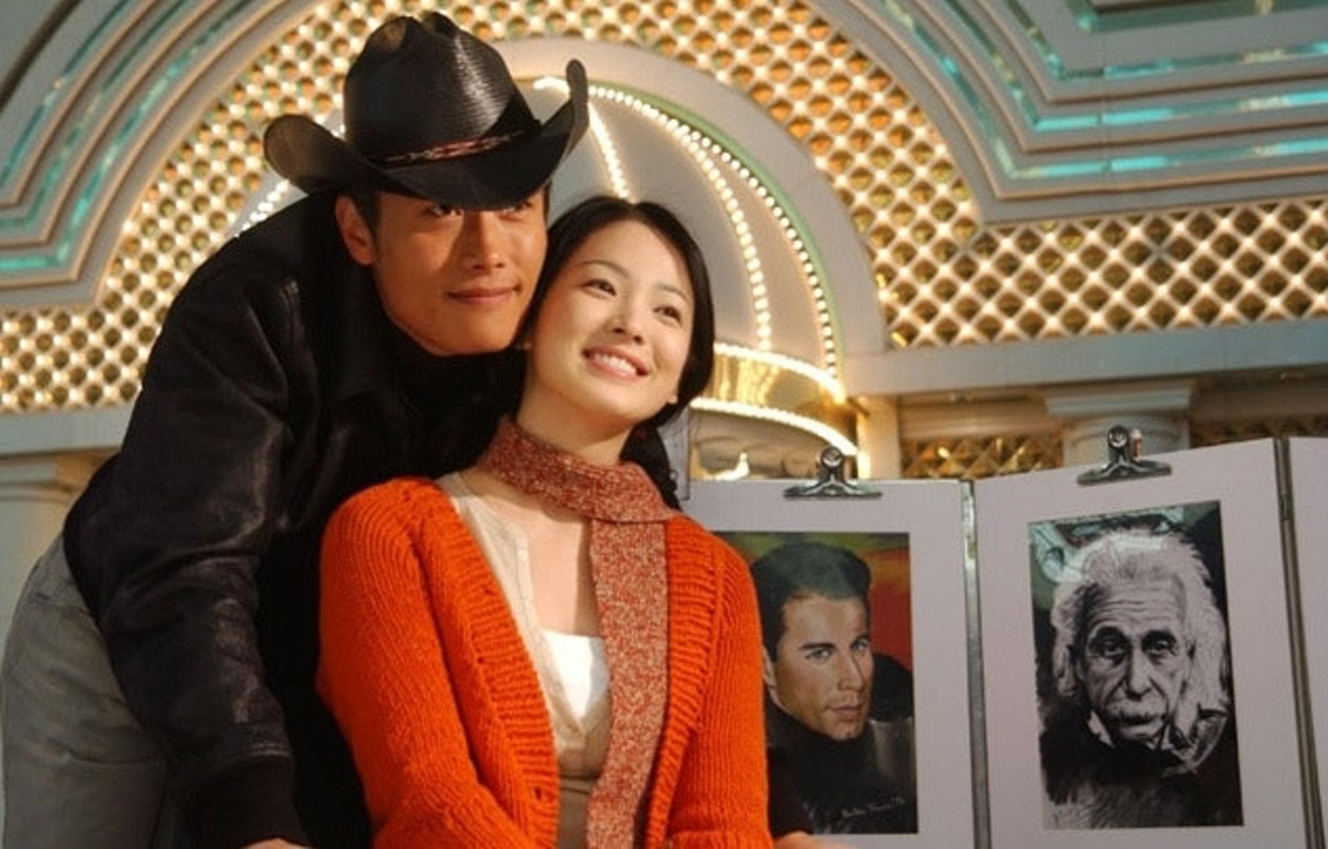 李秉憲是宋慧喬第一次公開認愛的男友。(電視劇「All In」劇照)