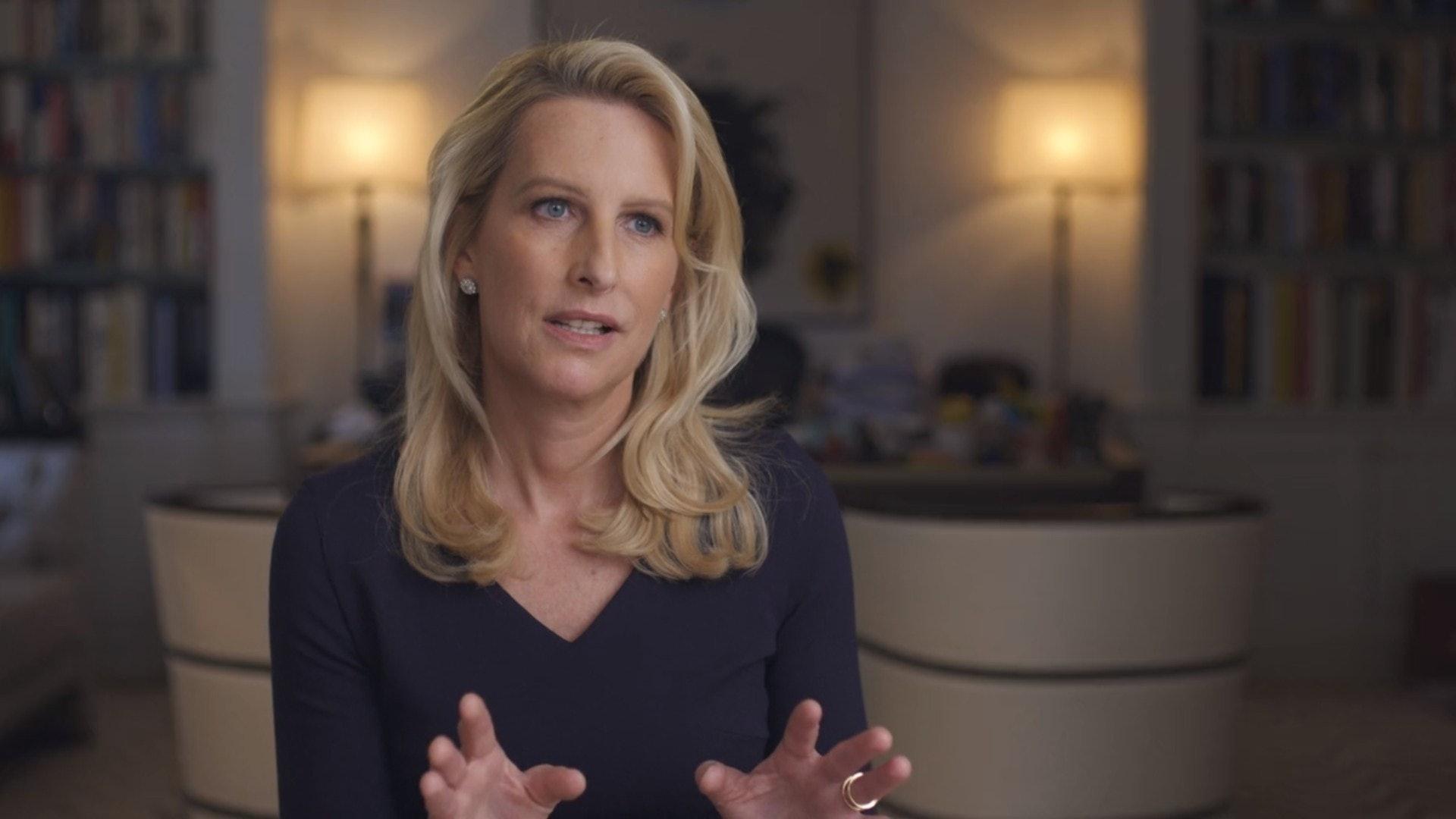 CNN記者Vicky表示當時準備出版的報導因Epstein不滿而被臨時抽起。(影片截圖)