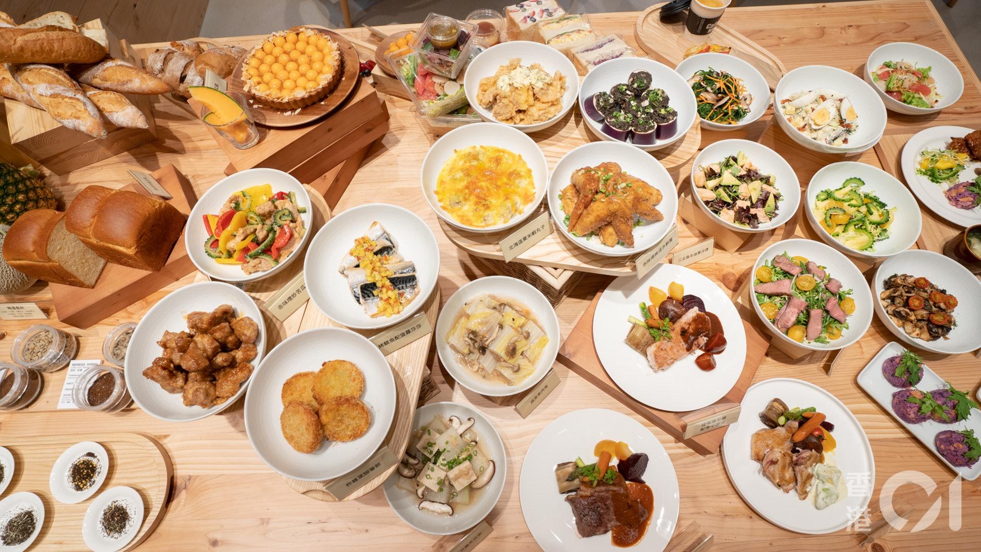 Café&Meal MUJI會根據季節轉換不同的餐單,最新的夏日餐單加入車厘茄、牛油果、沖繩苦瓜等20款冷熱料理及輕食套餐。