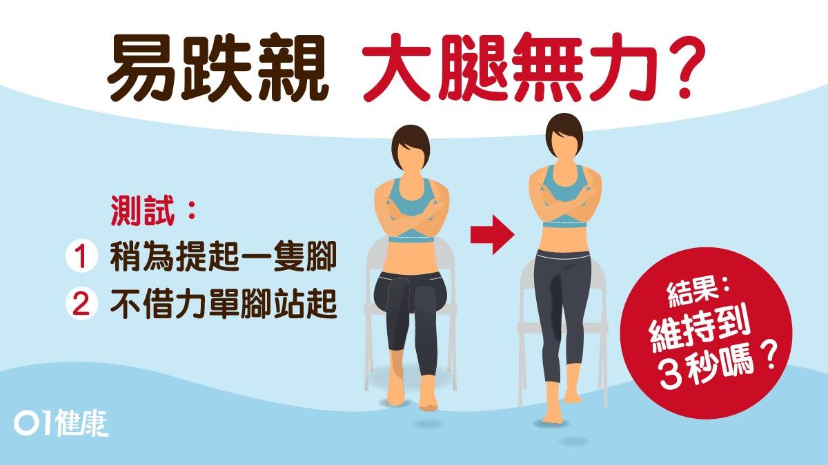 【银发乐活】易跌親  1個簡單動作1周提升肌力