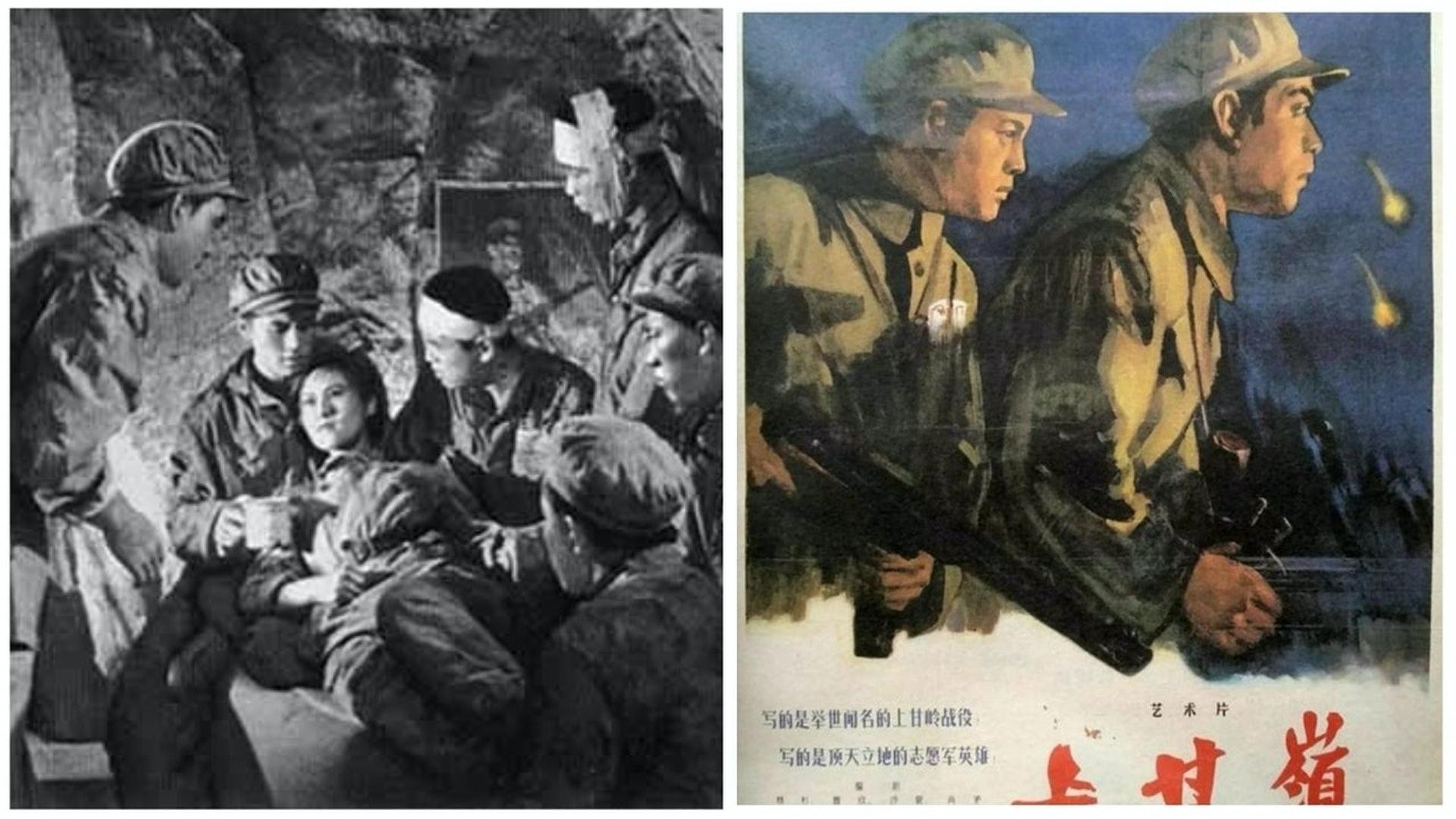 7月26日(周日)晚,中央电视台军事频道播出了抗美援朝战争题材经典电影《上甘岭》。在中美「新冷战」的大背景下,这部经典影片的复播被指意味深长。(资料图片)