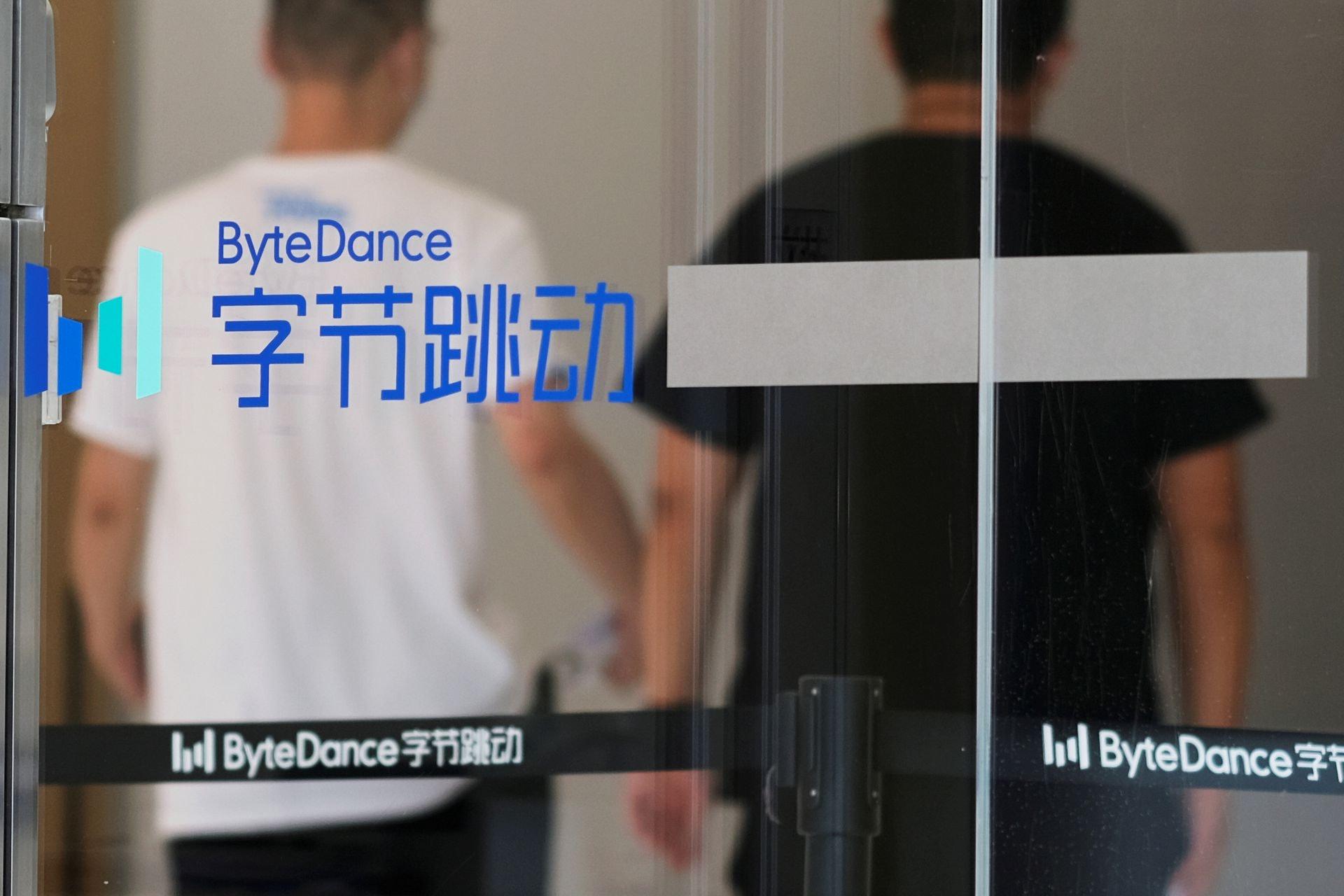美国「封杀」TikTok:TikTok对字节跳动来说是最成功的海外平台。 路透社2020年7月29日引述消息人士报道,字节跳动的投资者将TikTok的估值定为500亿美元。 图为2020年7月7日镜头下位于中国北京的字节跳动办公室。 (Reuters)