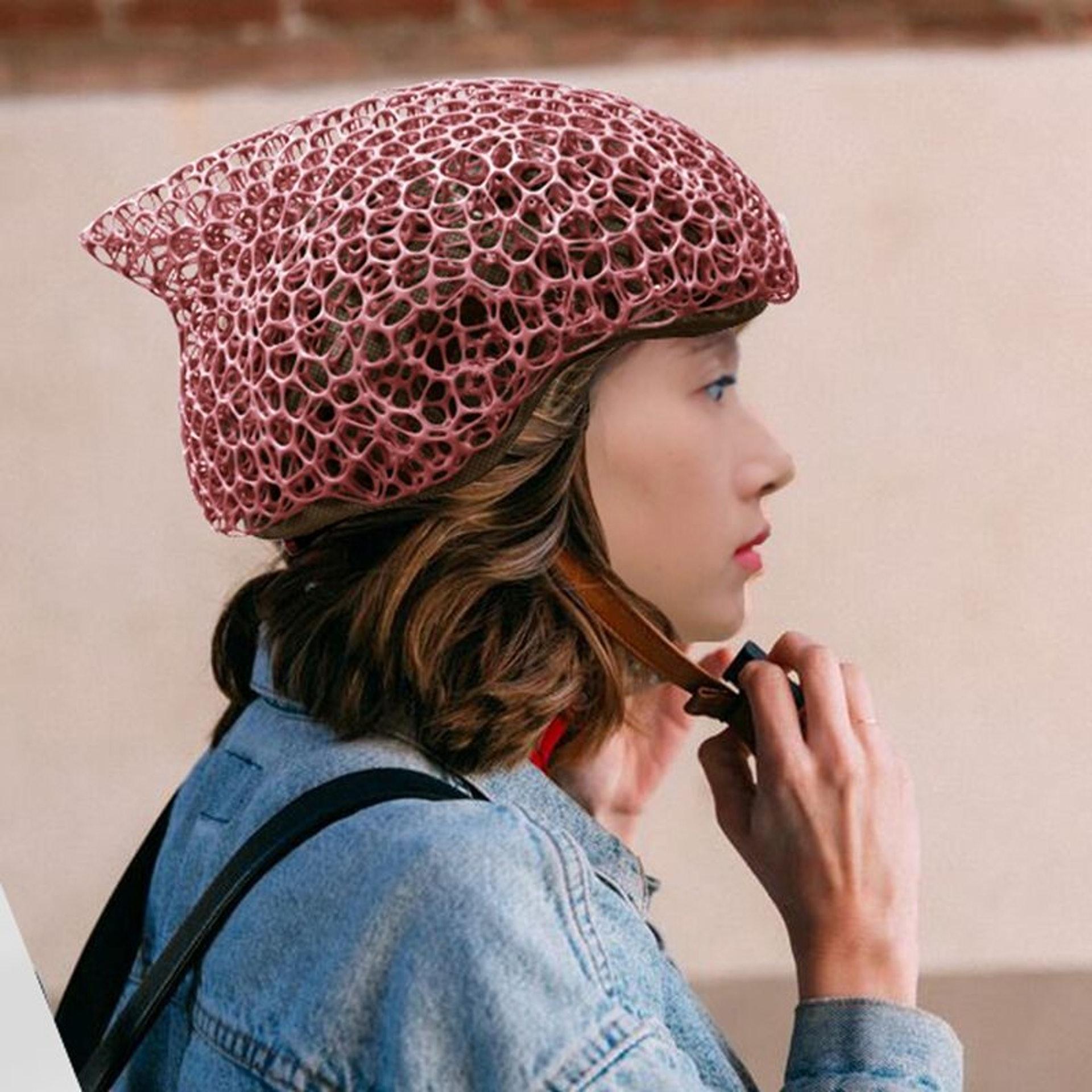 單車頭盔「Voronoi」(網上圖片)