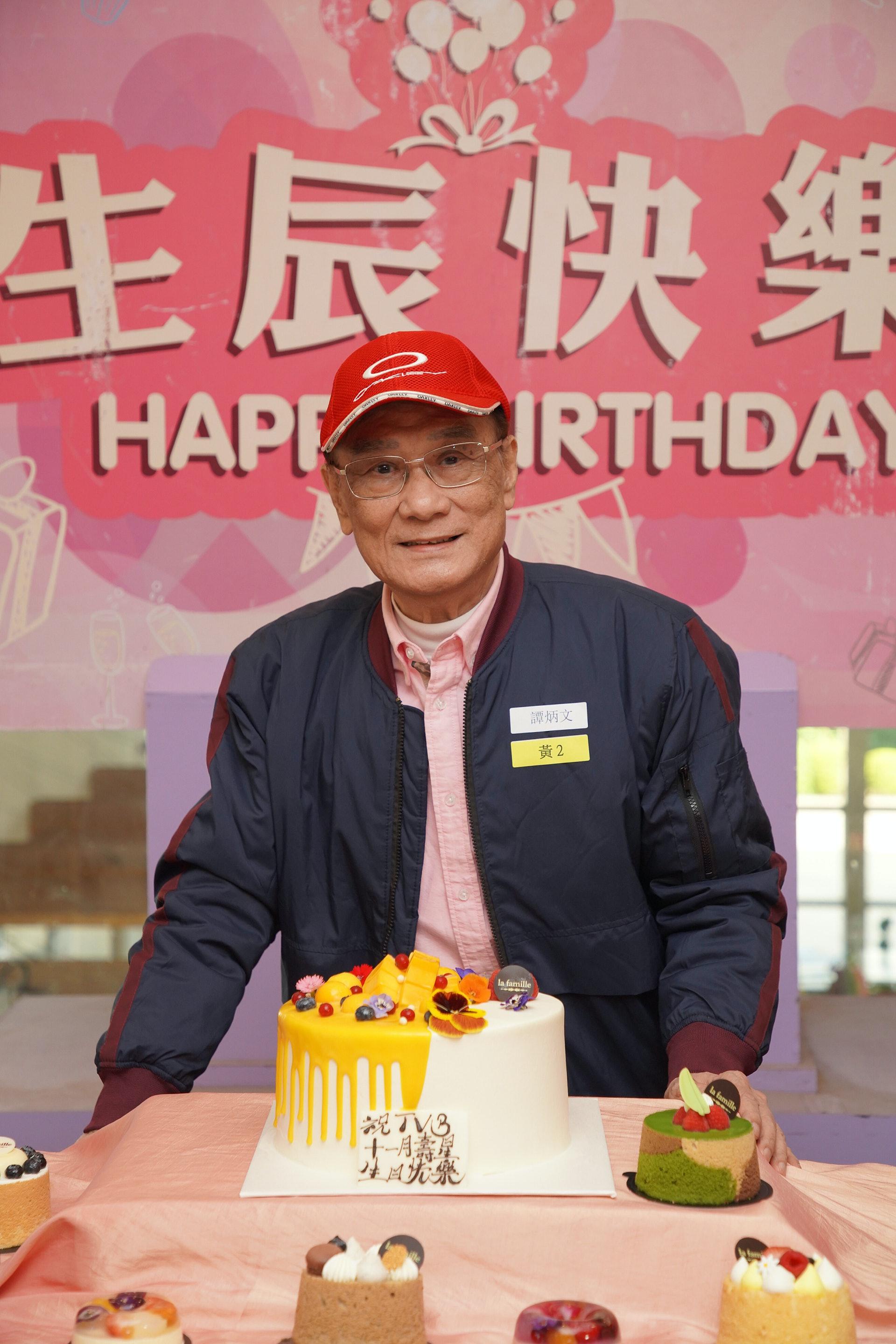 去年出席生日會。(視覺中國)