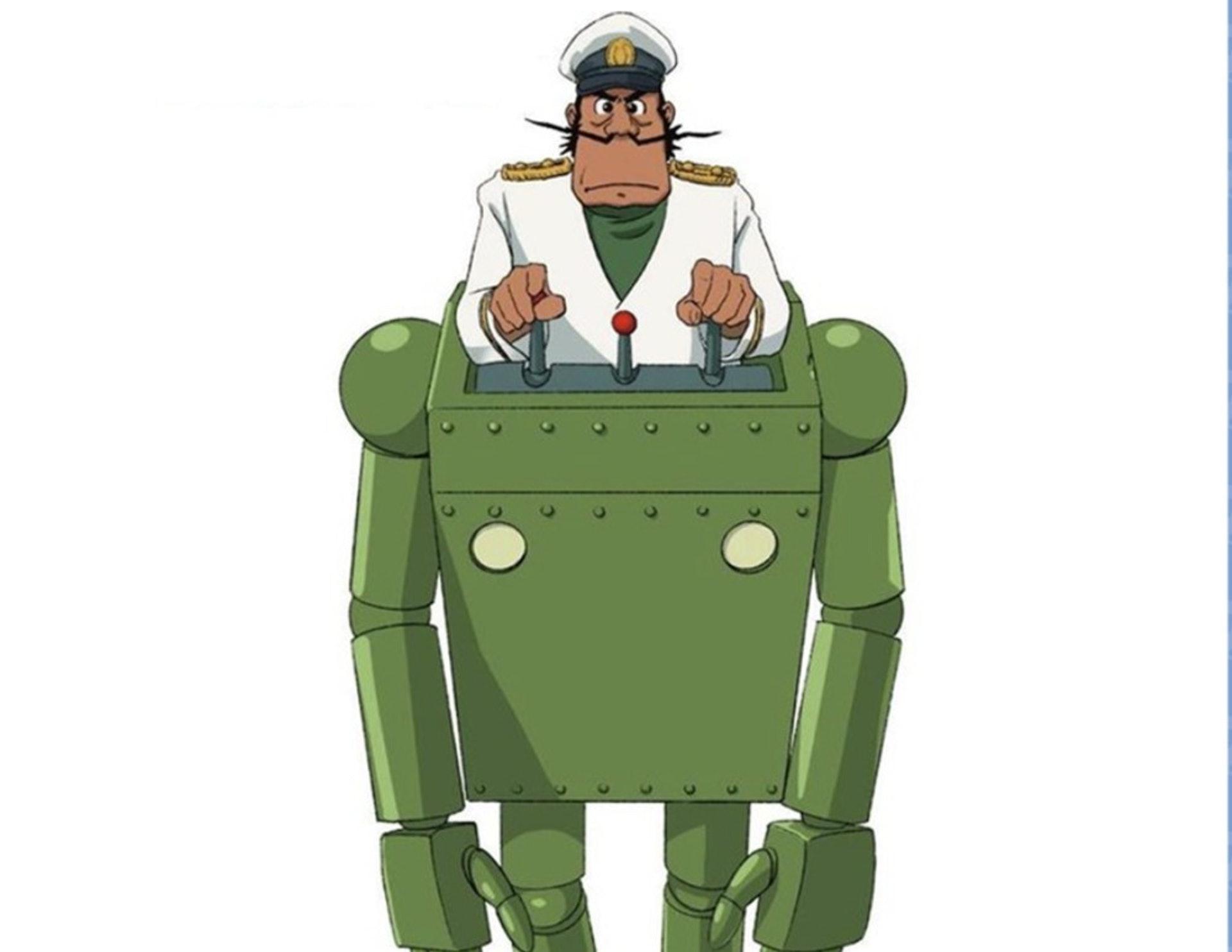 《高立的未來世界》中的泰士船長。(網上圖片)